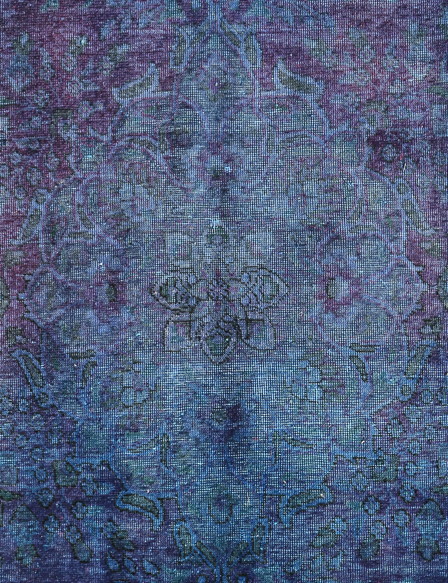 Tappeto Vintage  blu <br/>214 x 132 cm