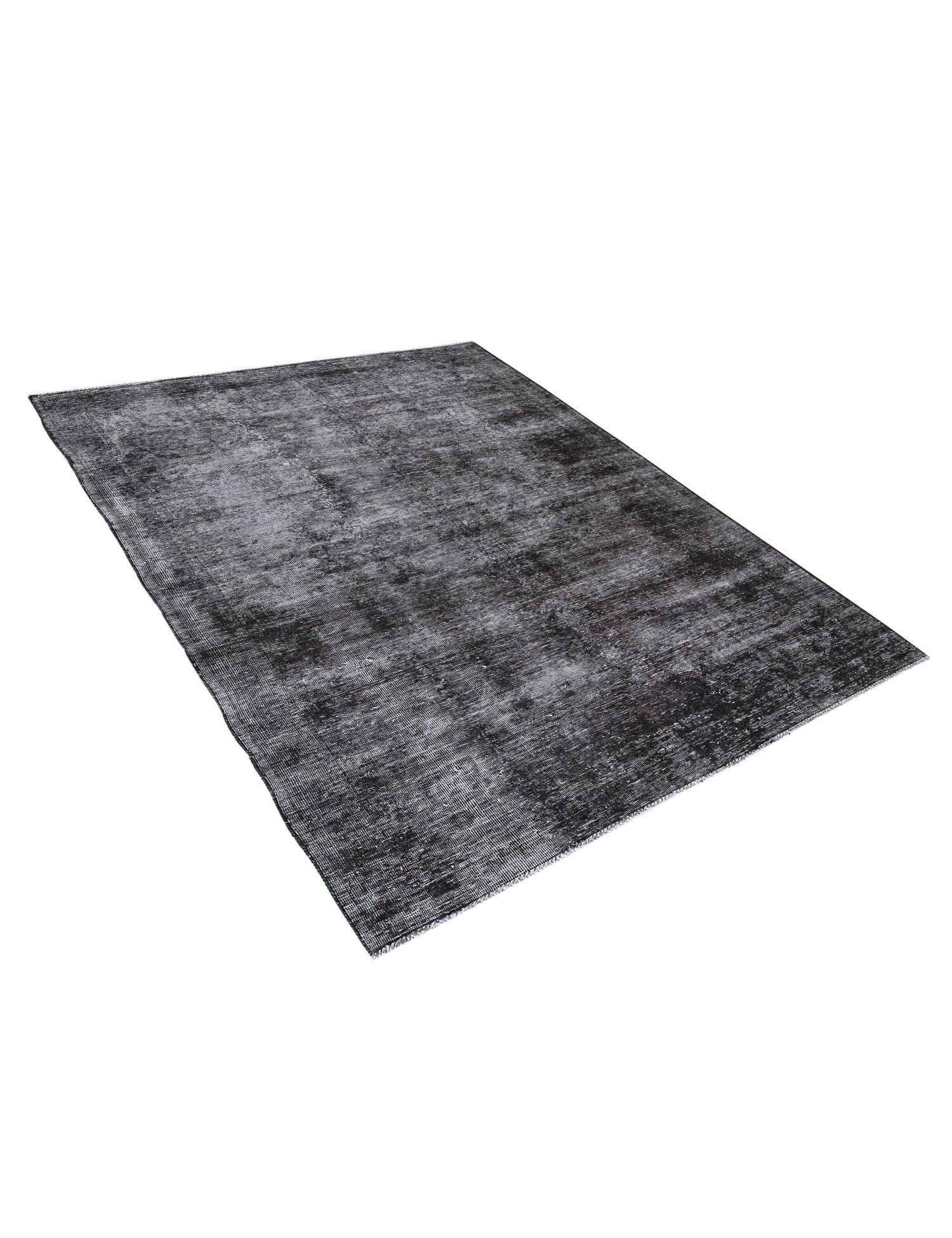 Vintage Teppich  schwarz <br/>237 x 145 cm