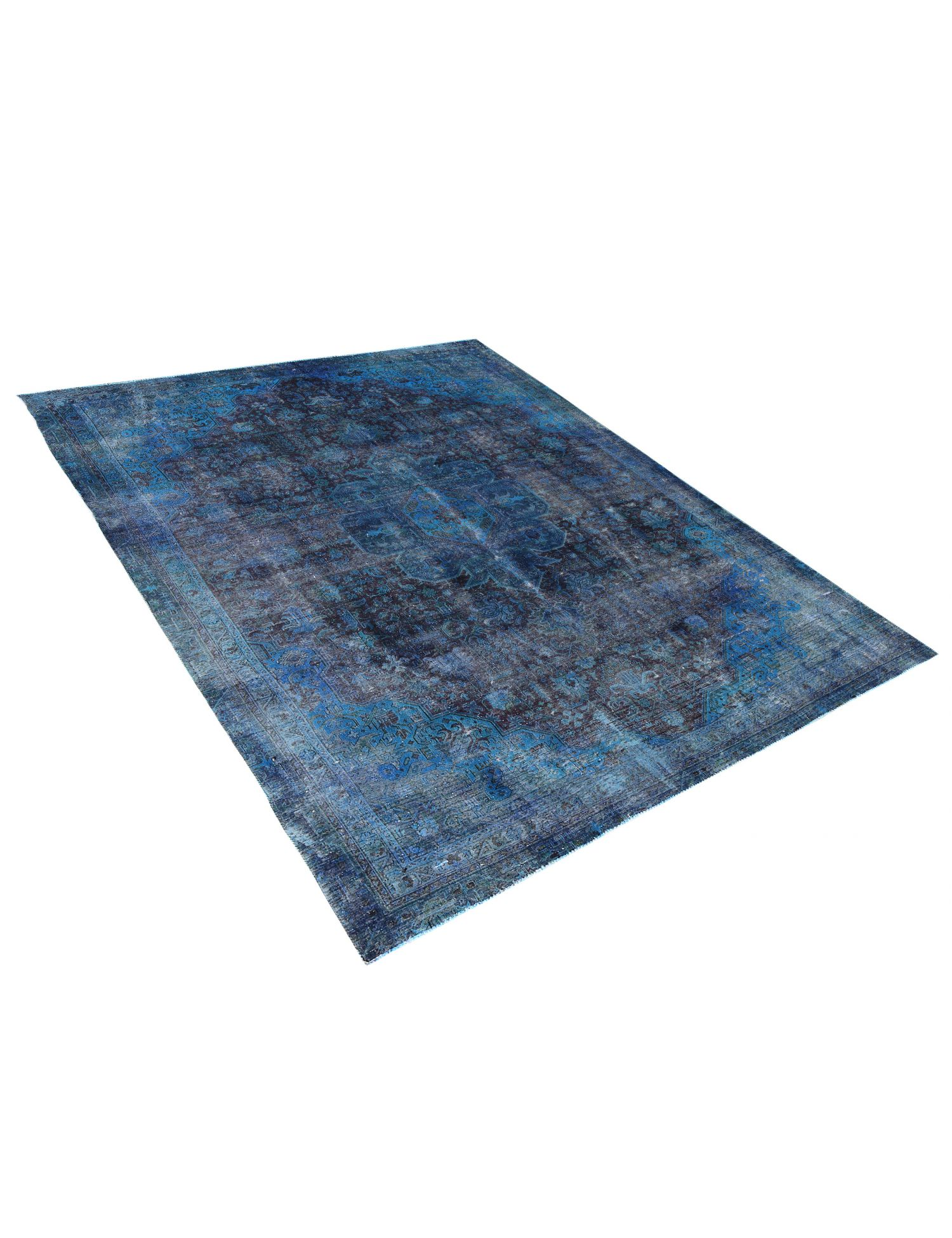 Tappeto Vintage  blu <br/>335 x 244 cm