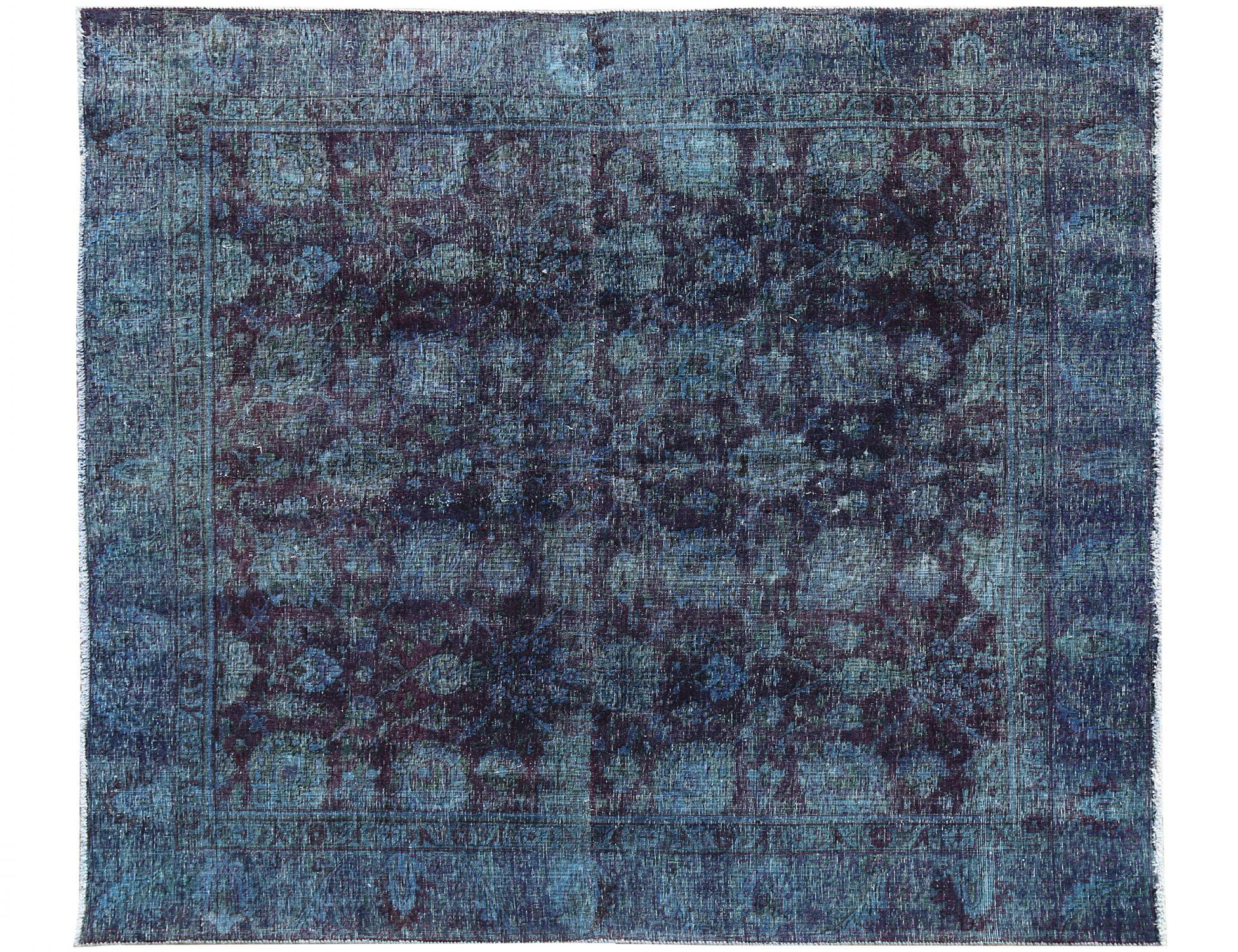 Tappeto Vintage  blu <br/>247 x 238 cm