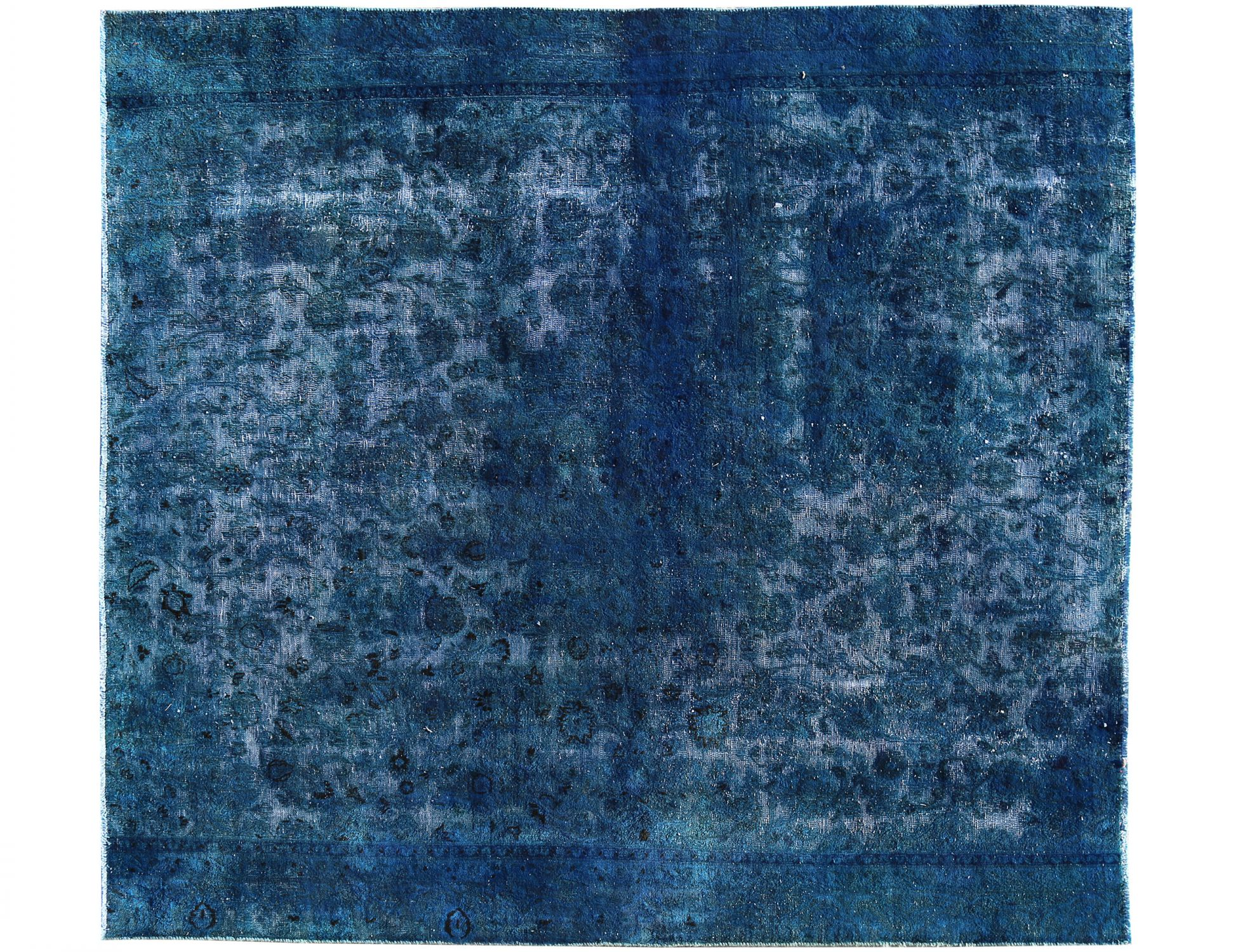 Tappeto Vintage   blu <br/>263 x 241 cm