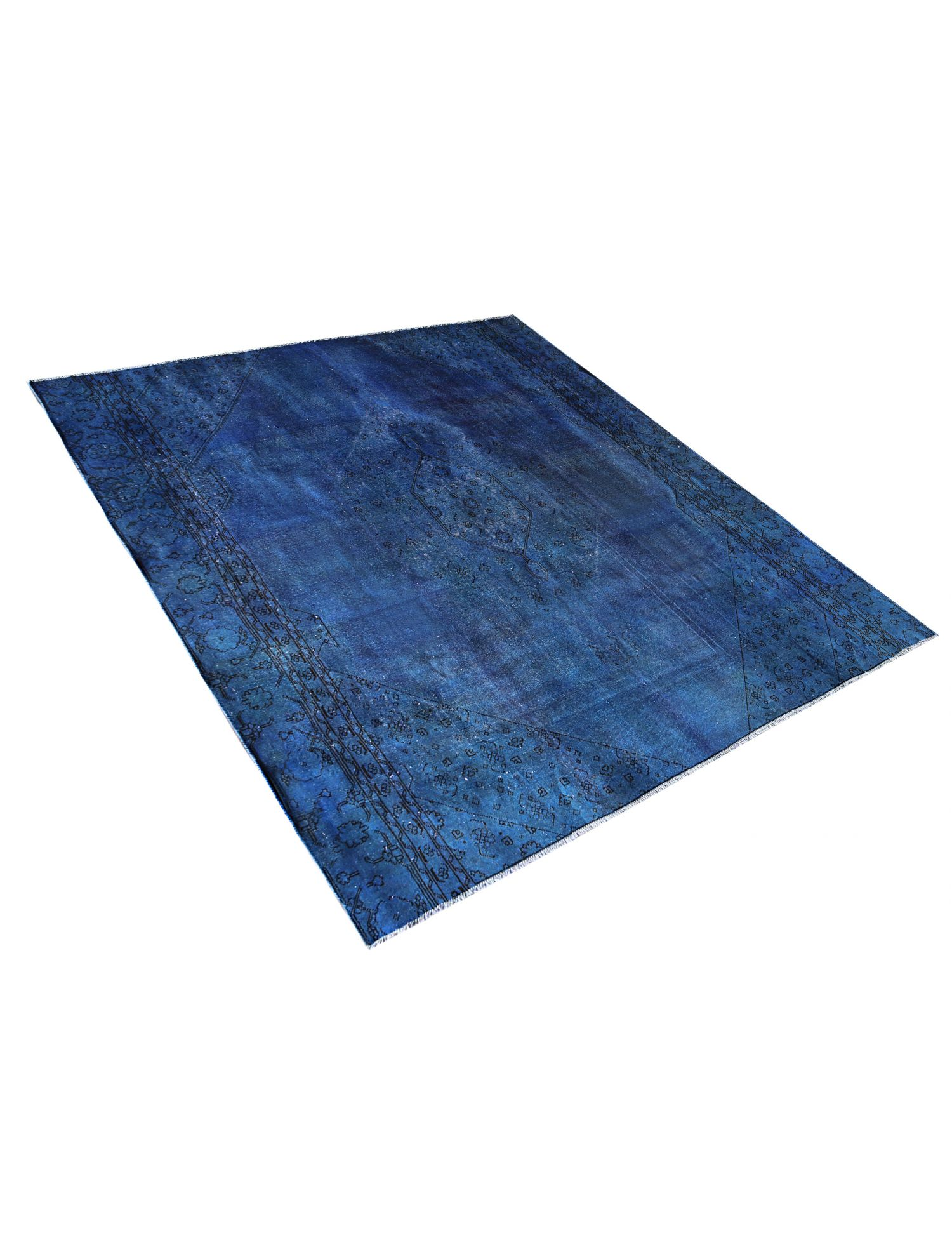 Tappeto Vintage  blu <br/>302 x 272 cm
