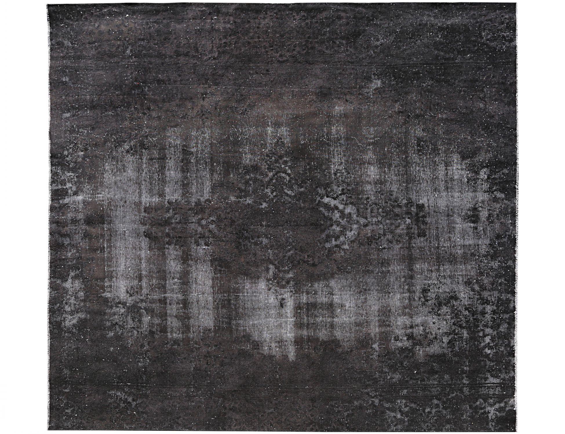 Tappeto Vintage  nero <br/>302 x 280 cm