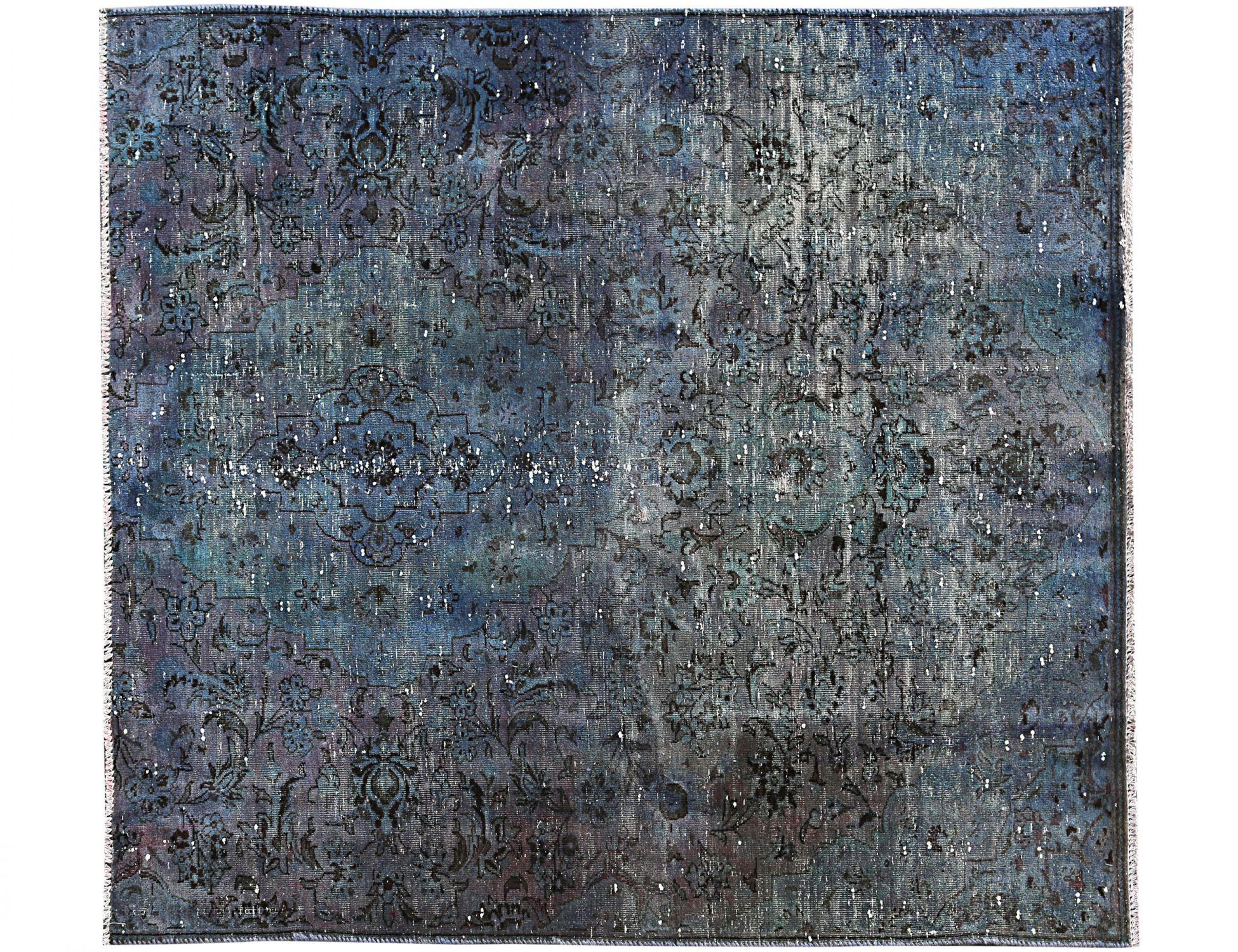 Vintage Teppich  blau <br/>180 x 148 cm