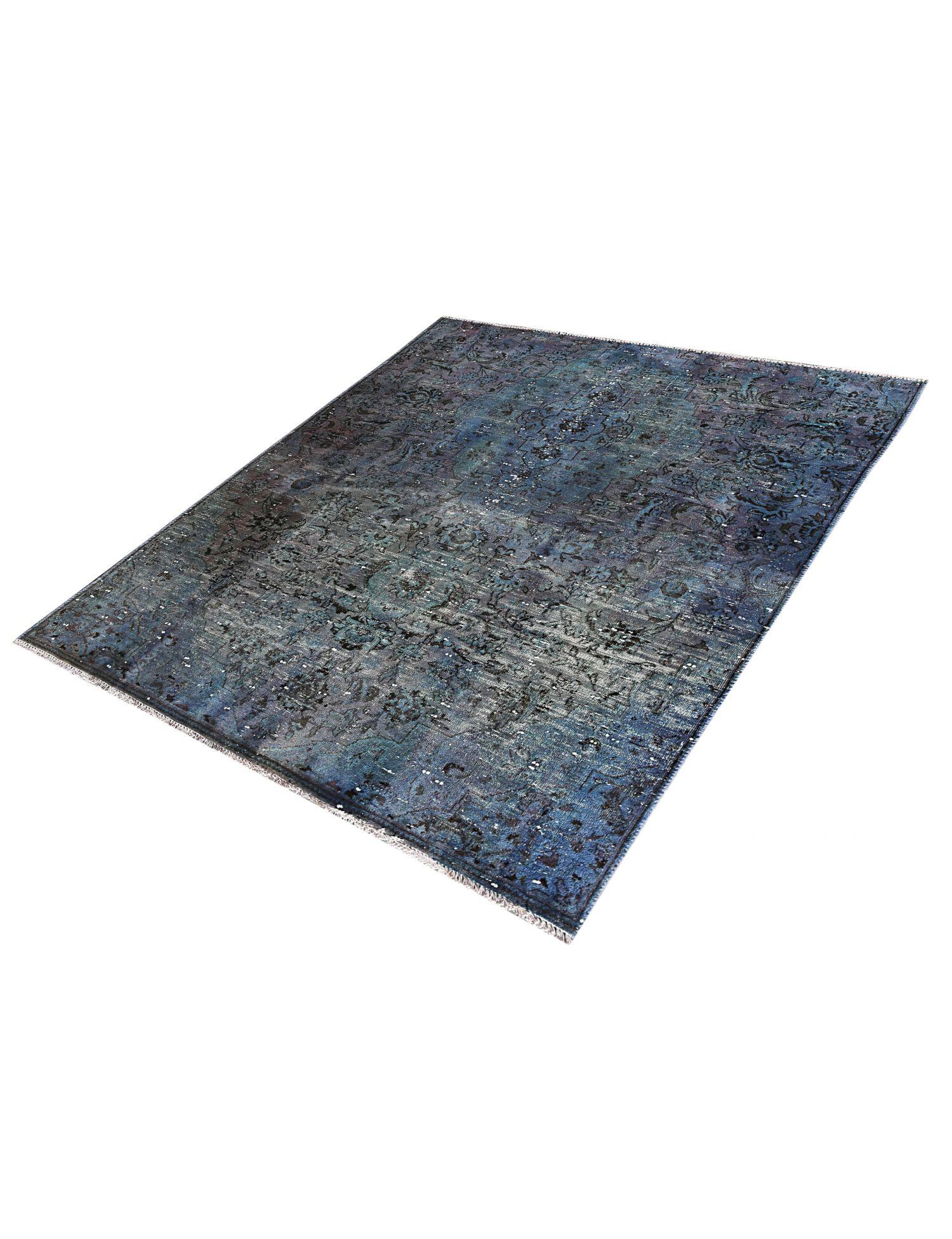 Tappeto Vintage  blu <br/>180 x 148 cm