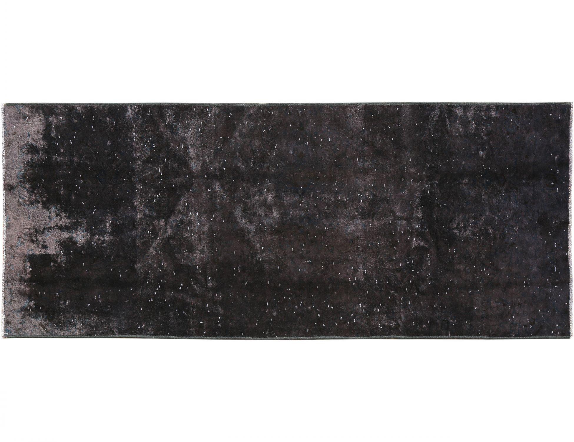 Tappeto Vintage  nero <br/>277 x 100 cm