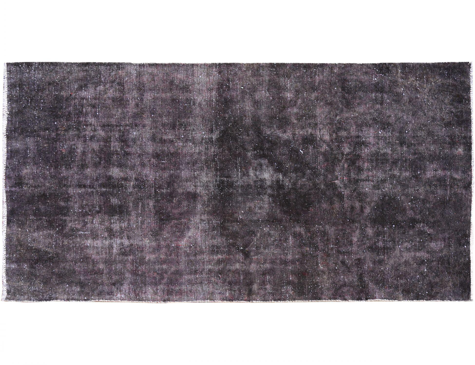 Tappeto Vintage  nero <br/>270 x 160 cm