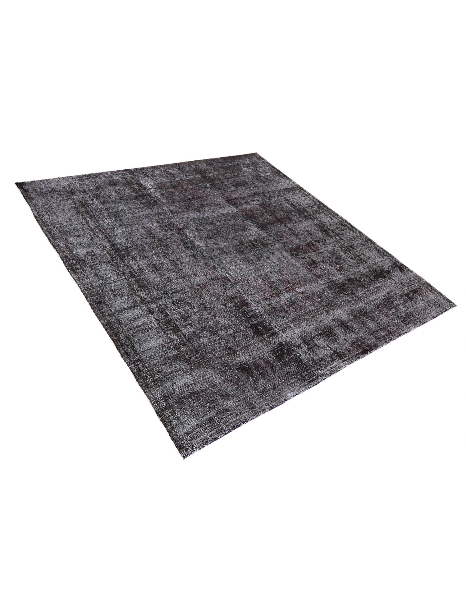 Vintage Teppich  schwarz <br/>305 x 292 cm
