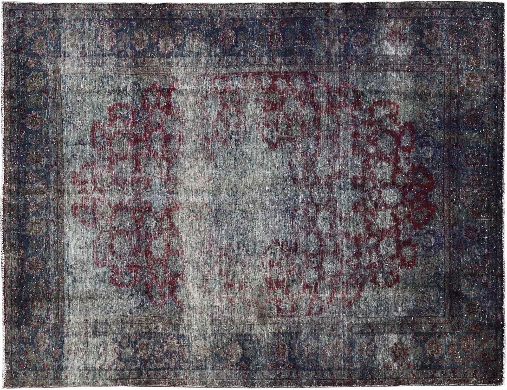 Vintage Teppich  blau <br/>378 x 246 cm