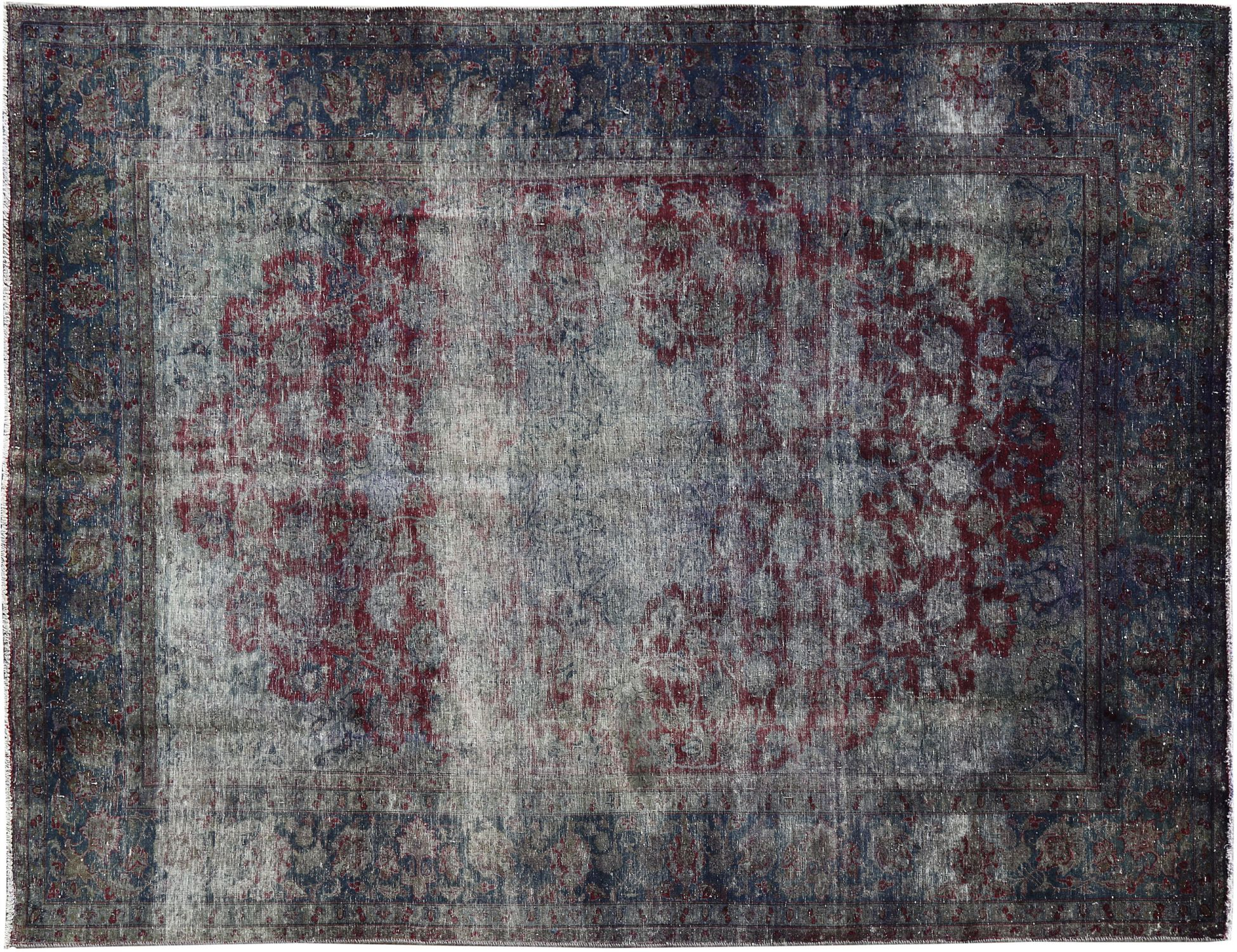 Tappeto Vintage  blu <br/>378 x 246 cm