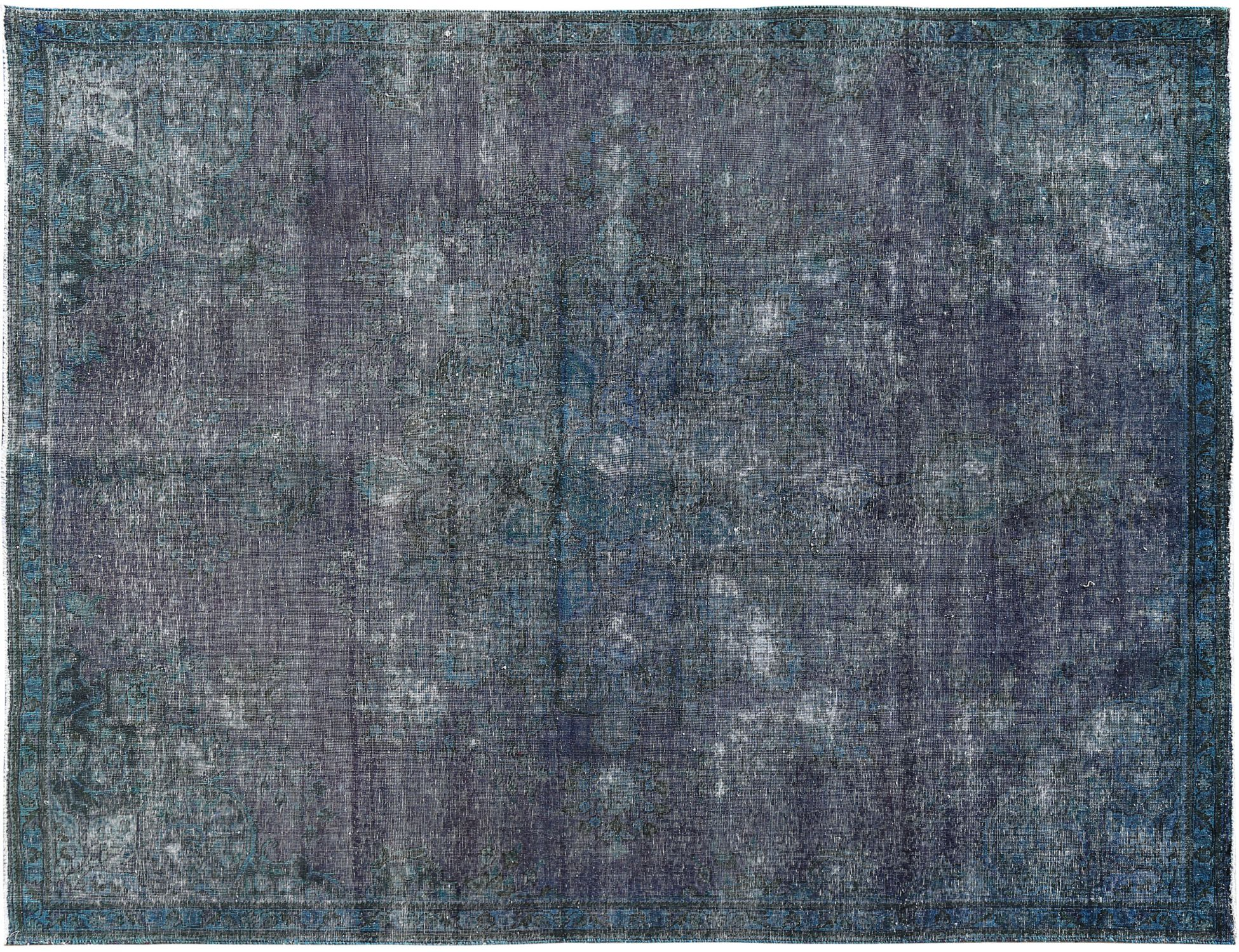 Tappeto Vintage  blu <br/>327 x 233 cm