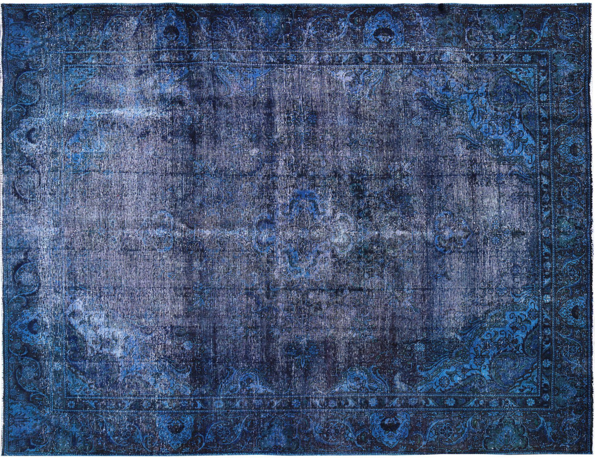 Tappeto Vintage  blu <br/>376 x 281 cm
