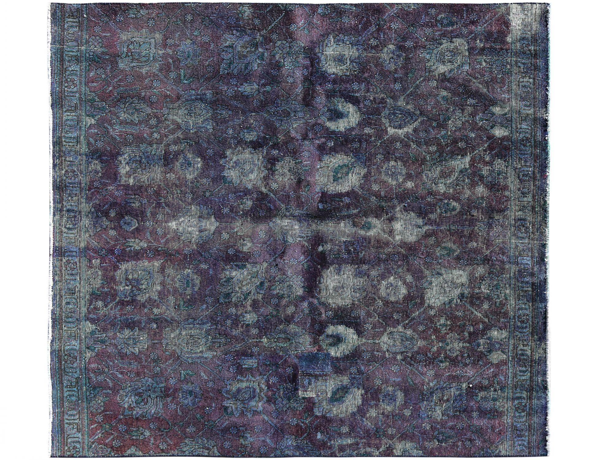 Tappeto Vintage  blu <br/>223 x 200 cm