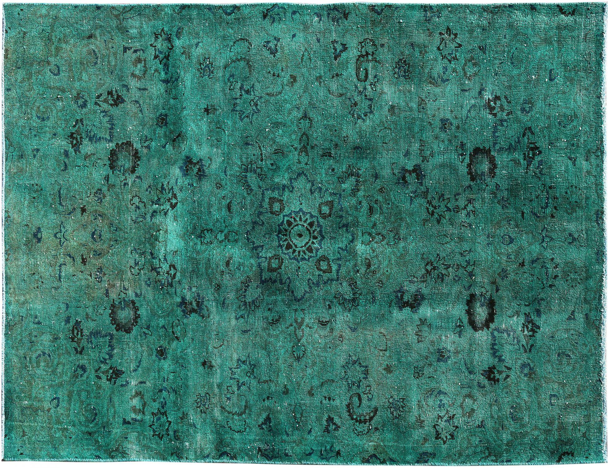 Vintage Teppich  grün <br/>248 x 156 cm