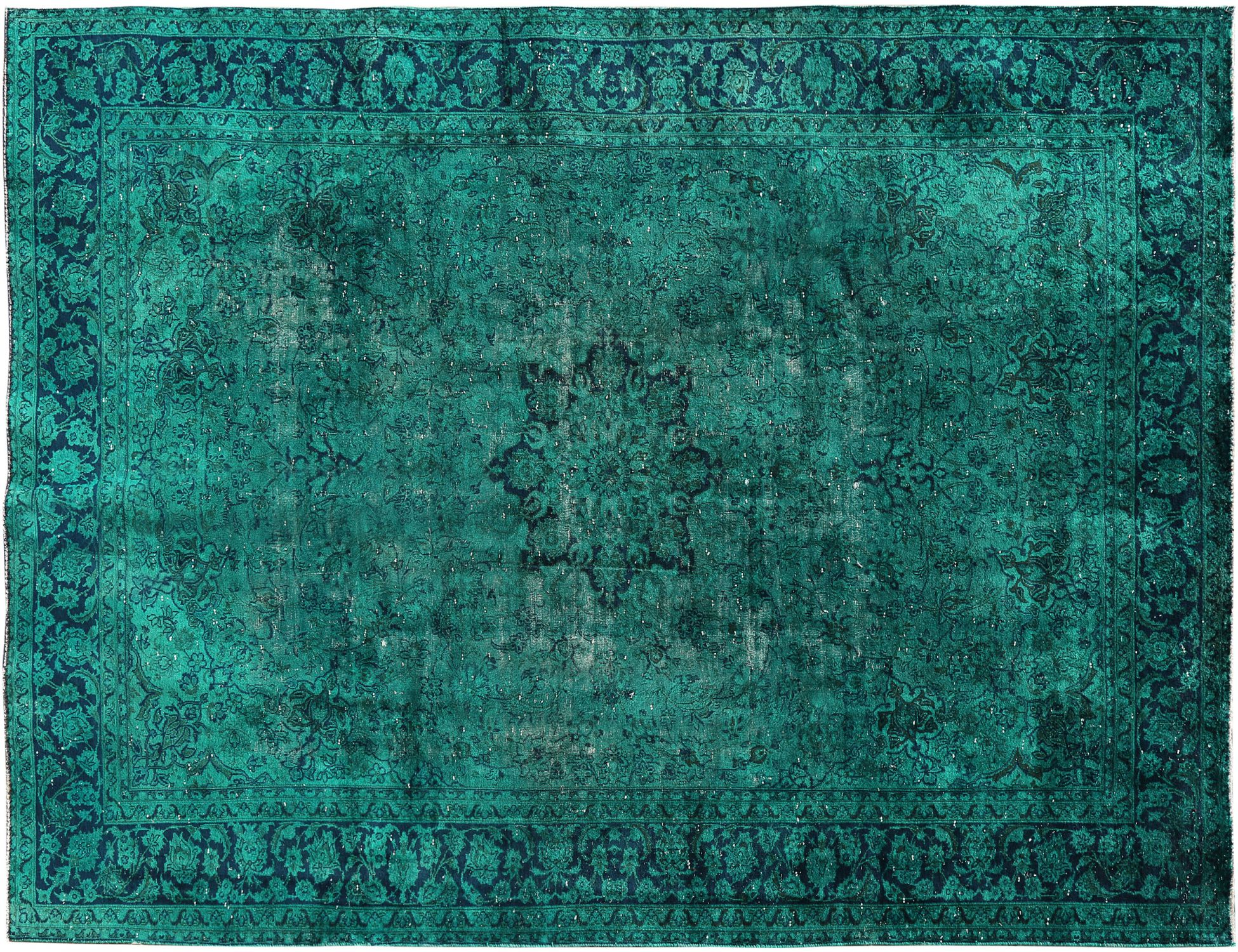 Tappeto Vintage  verde <br/>392 x 260 cm
