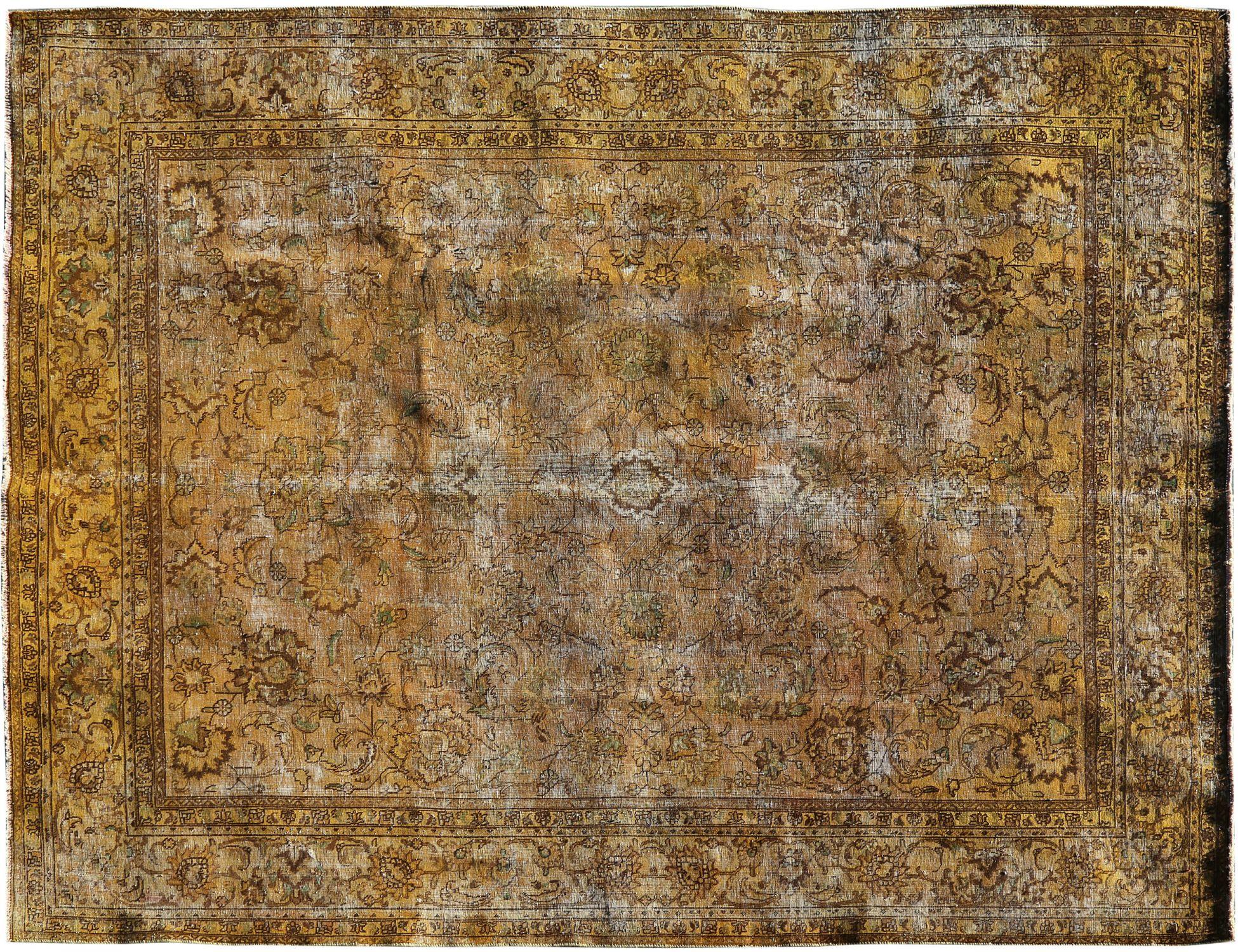 Vintage Teppich  gelb <br/>380 x 283 cm
