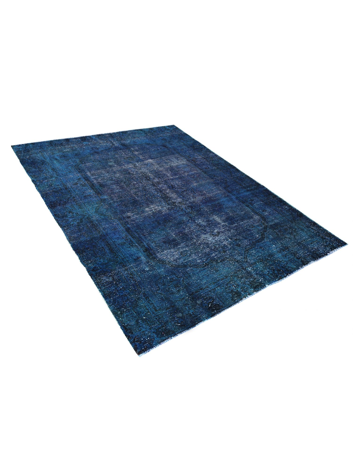 Tappeto Vintage  blu <br/>277 x 185 cm