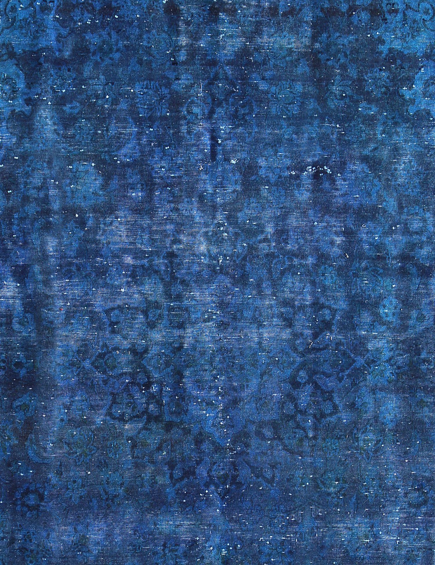 Tappeto Vintage  blu <br/>313 x 210 cm