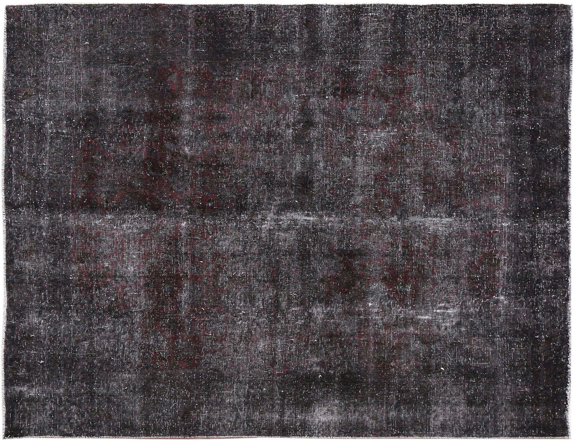 Tappeto Vintage  nero <br/>255 x 216 cm