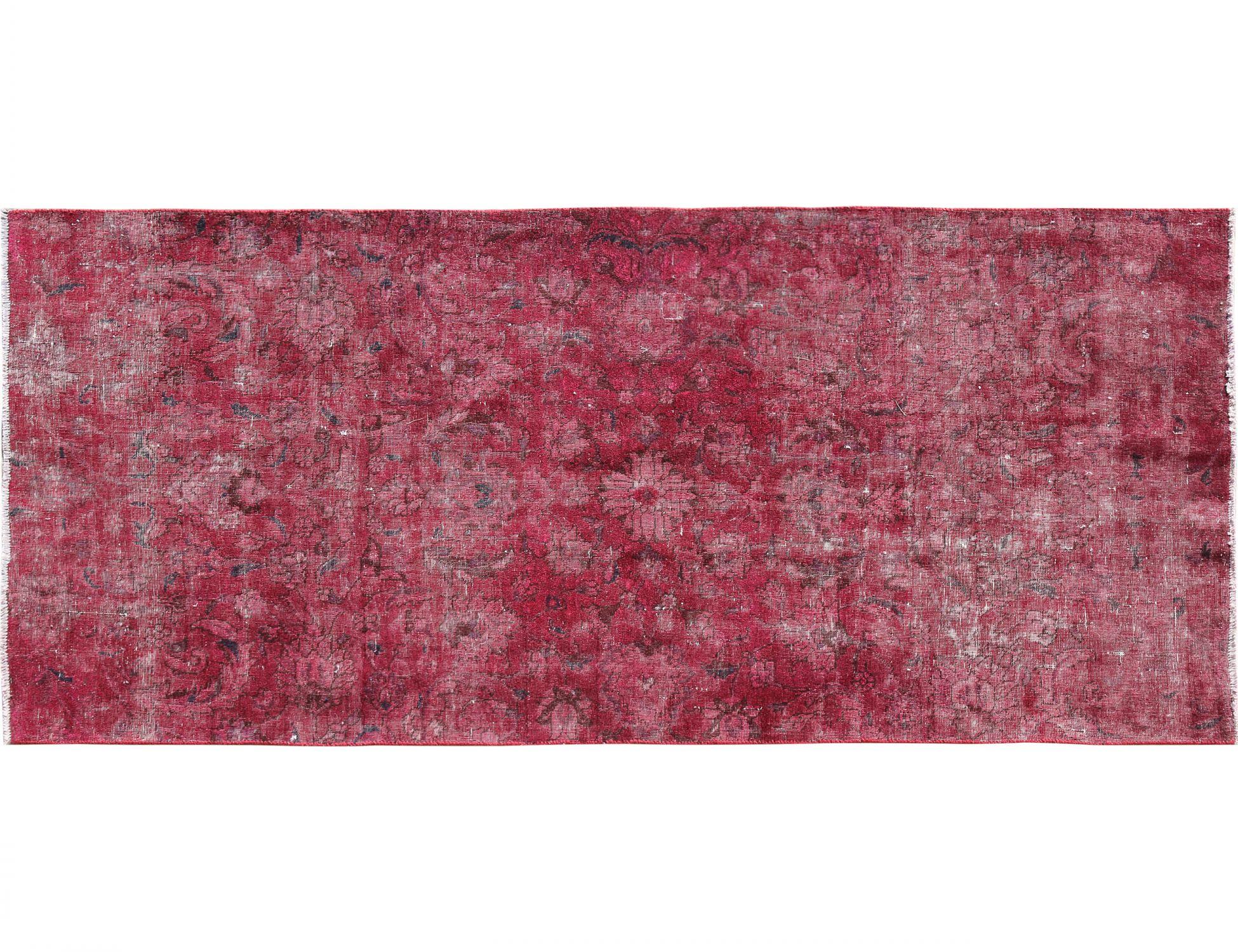Vintage Teppich  rot <br/>250 x 127 cm
