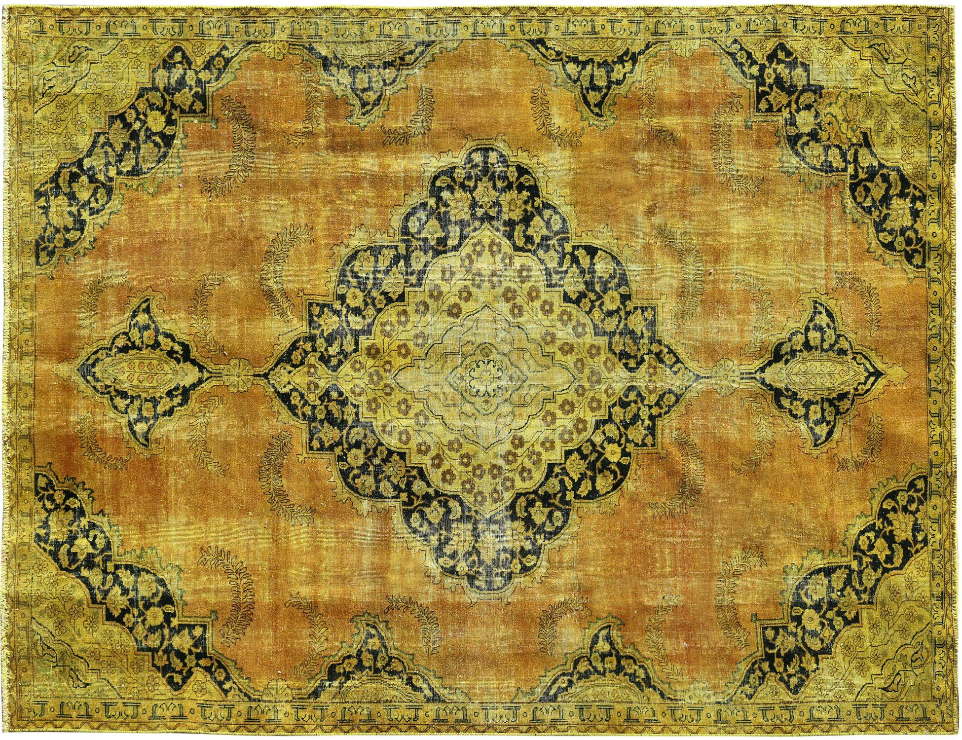 Tappeto Vintage  giallo <br/>310 x 210 cm