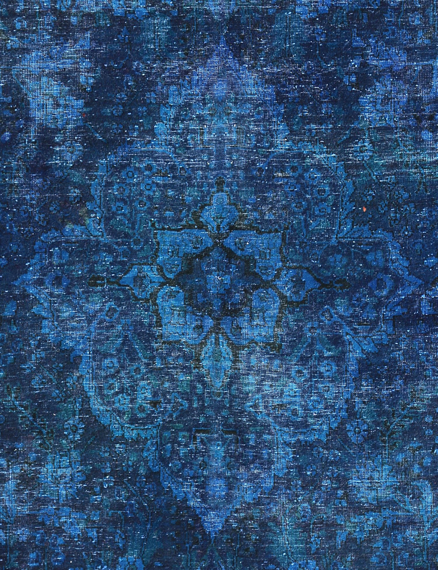 Tappeto Vintage  blu <br/>220 x 135 cm