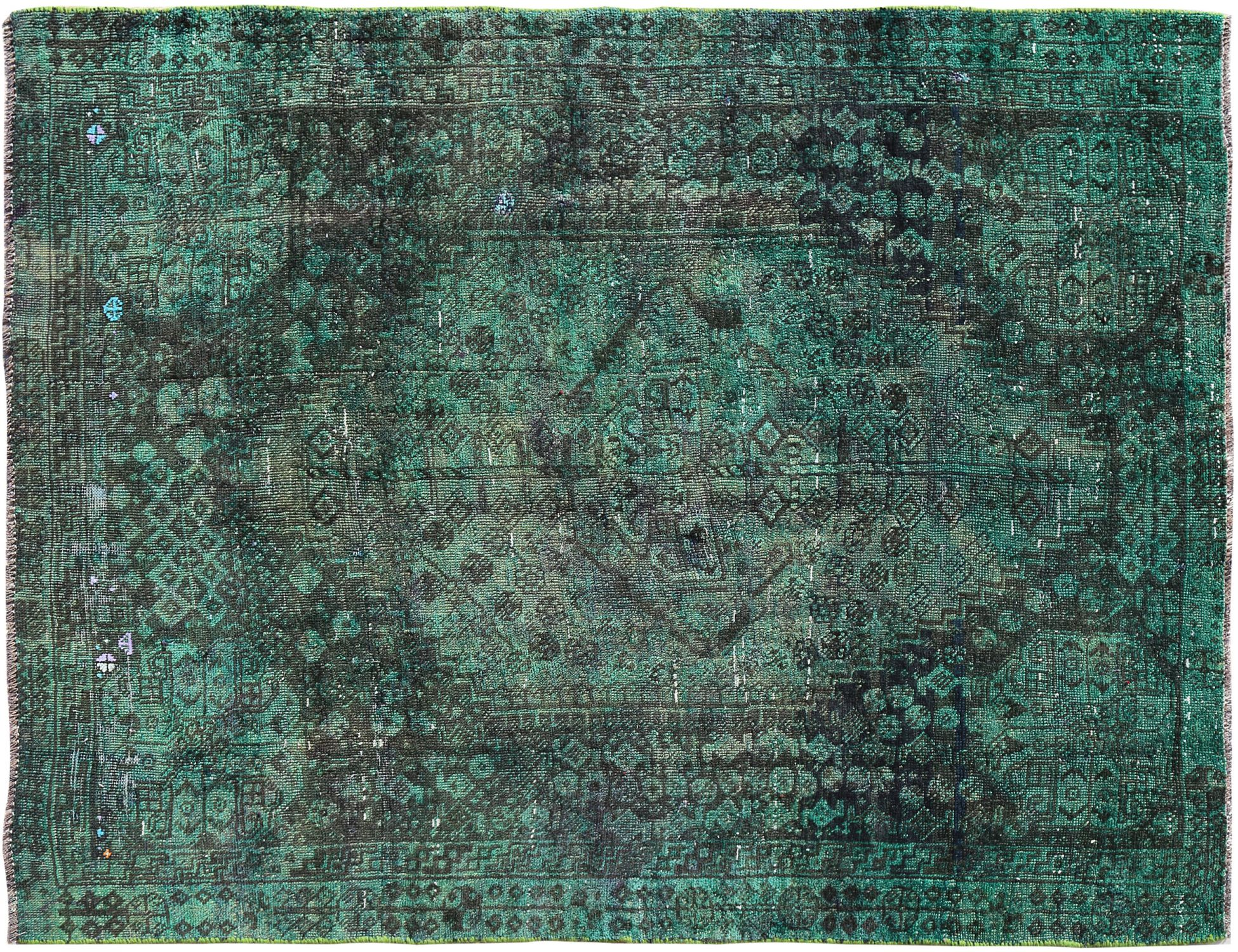 Vintage Teppich  grün <br/>255 x 174 cm