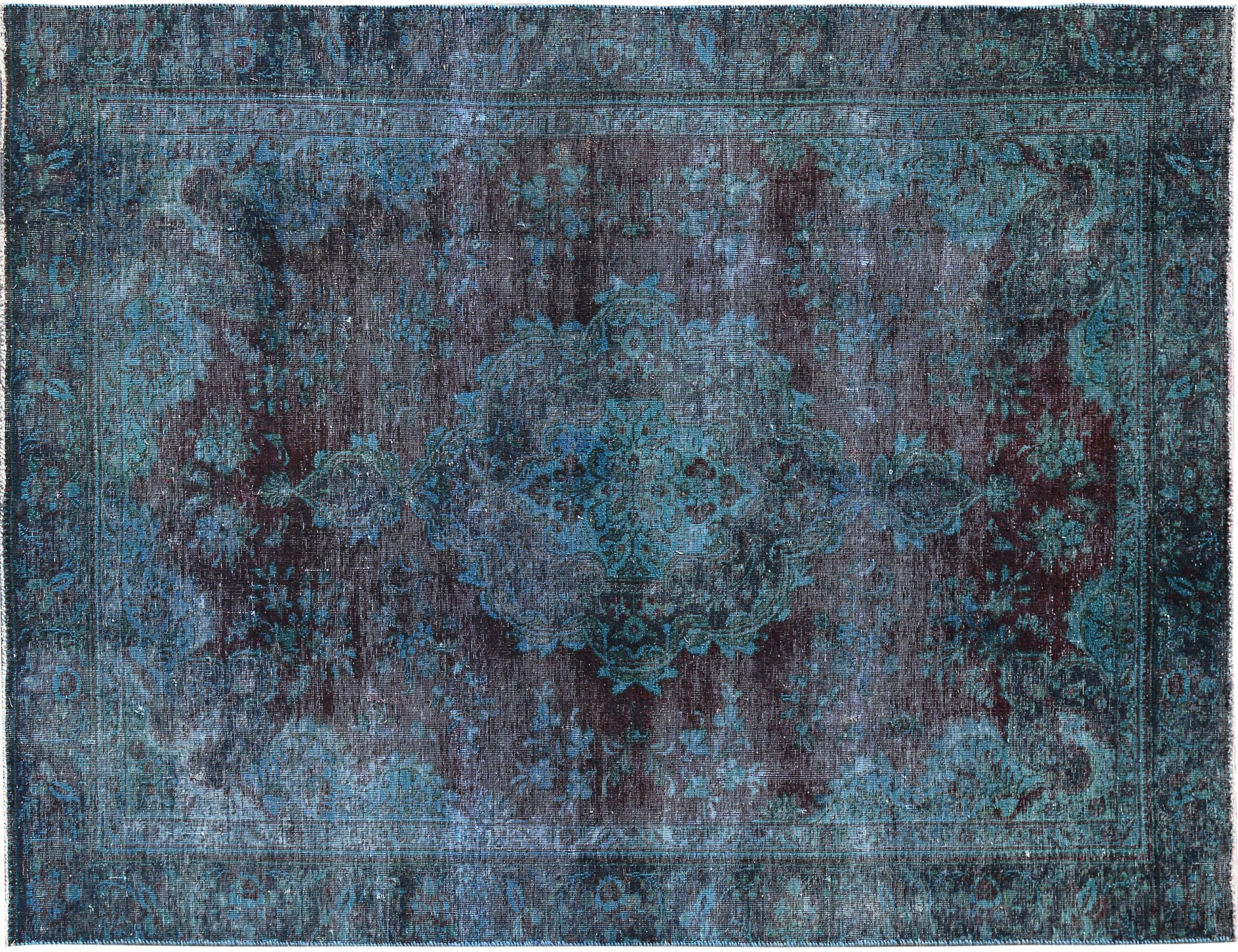 Tappeto Vintage  blu <br/>289 x 178 cm