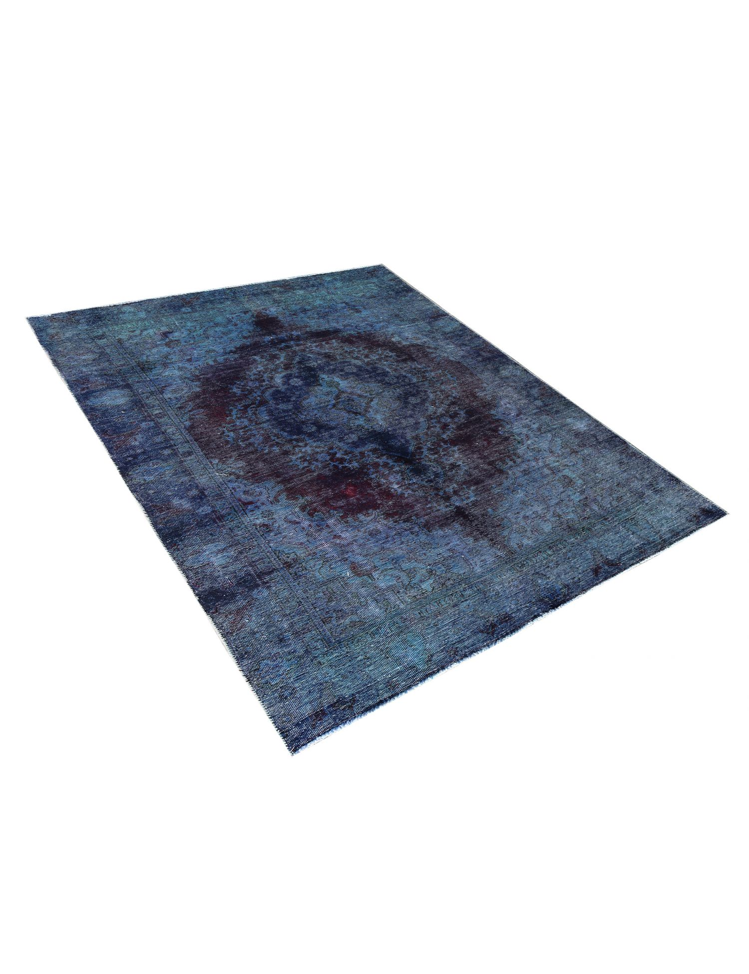 Tappeto Vintage  blu <br/>277 x 186 cm