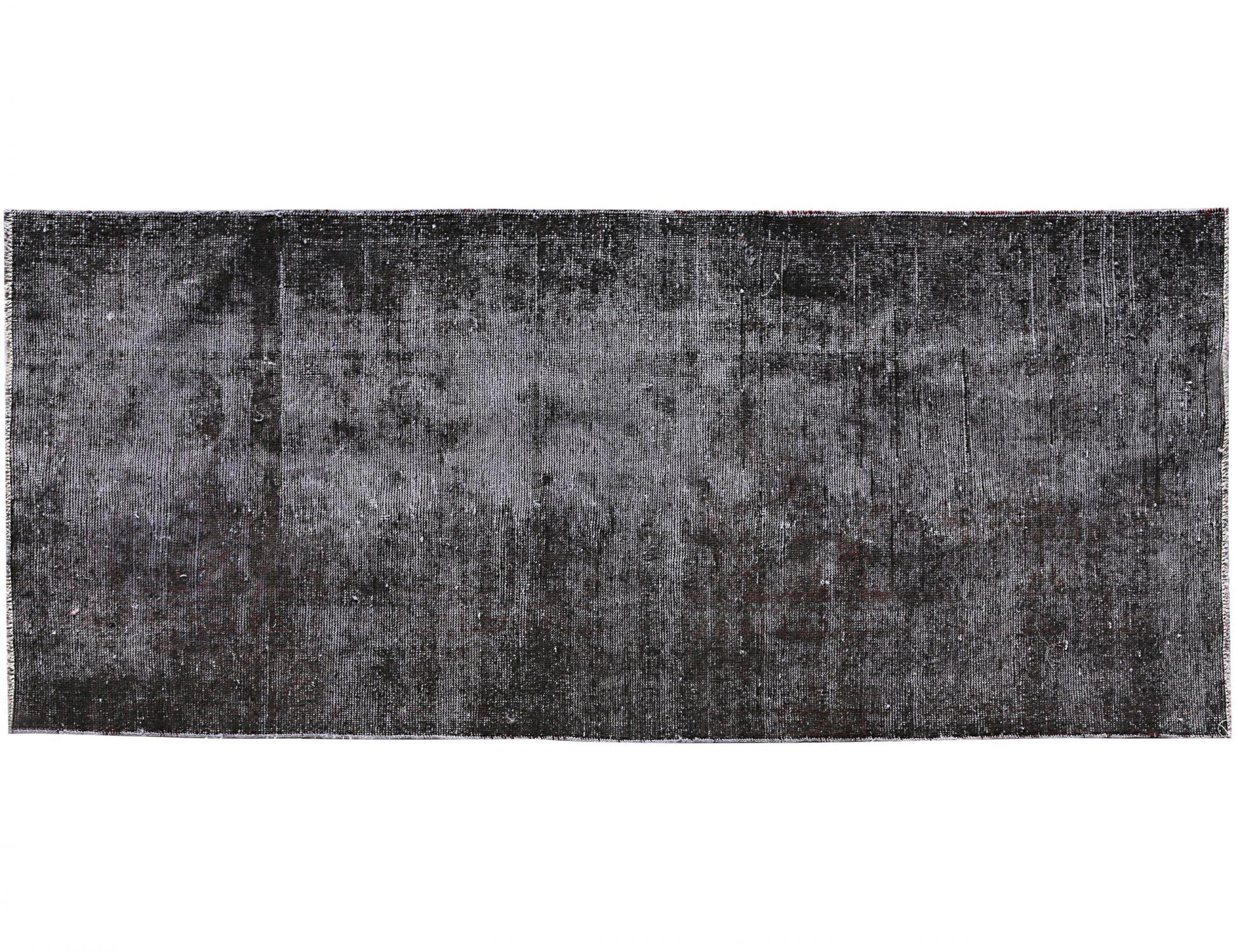 Tappeto Vintage  nero <br/>220 x 104 cm