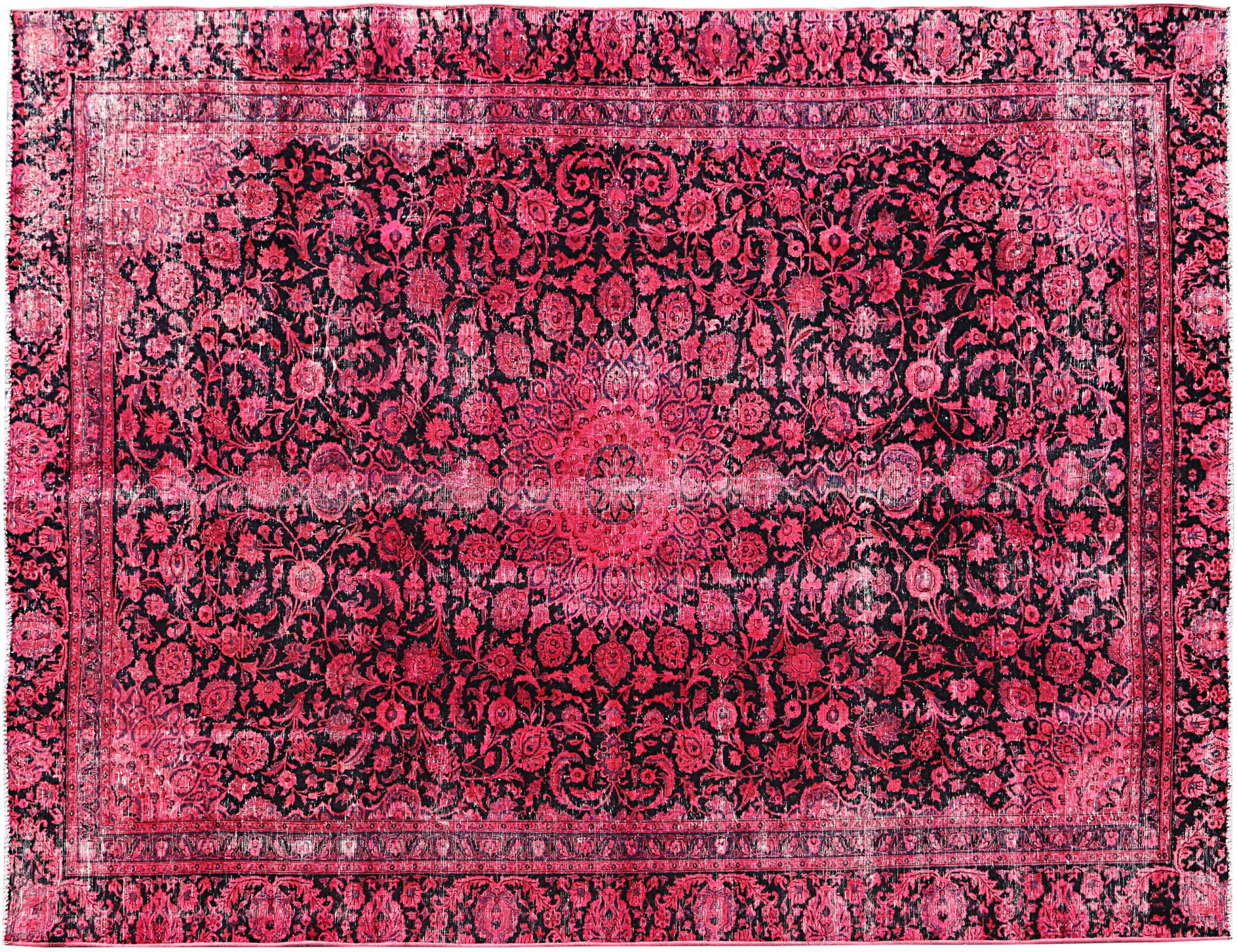 Vintage Teppich  rot <br/>317 x 249 cm