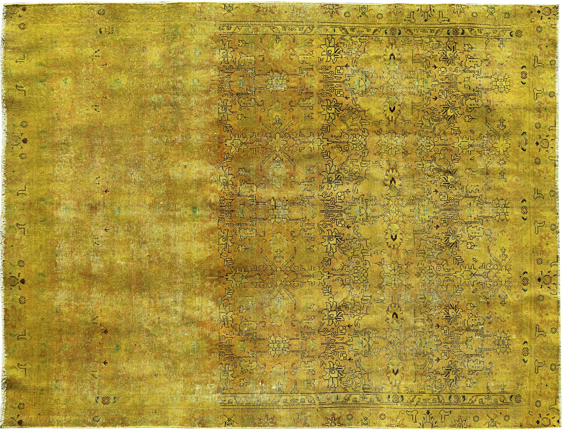 Tappeto Vintage  giallo <br/>353 x 256 cm