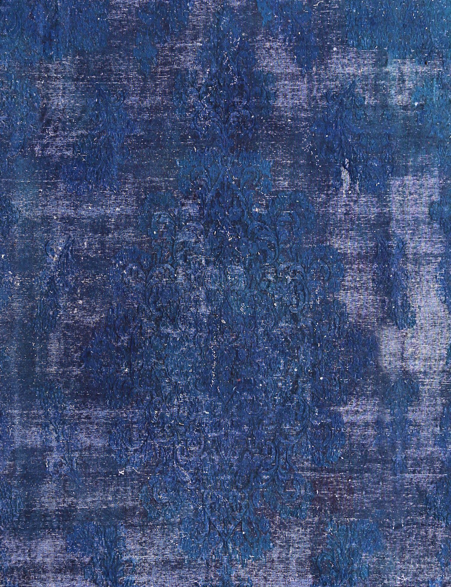 Vintage Teppich  blau <br/>412 x 260 cm