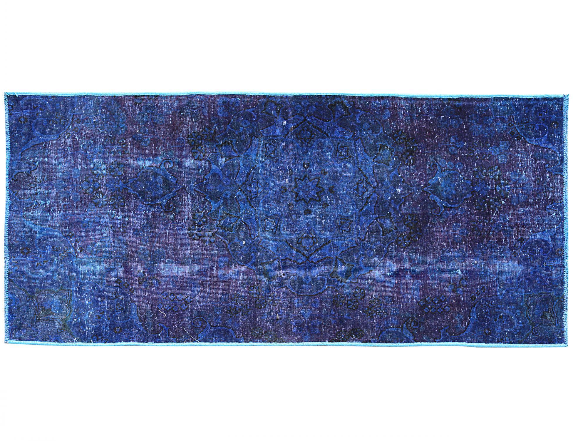 Tappeto Vintage  blu <br/>207 x 99 cm