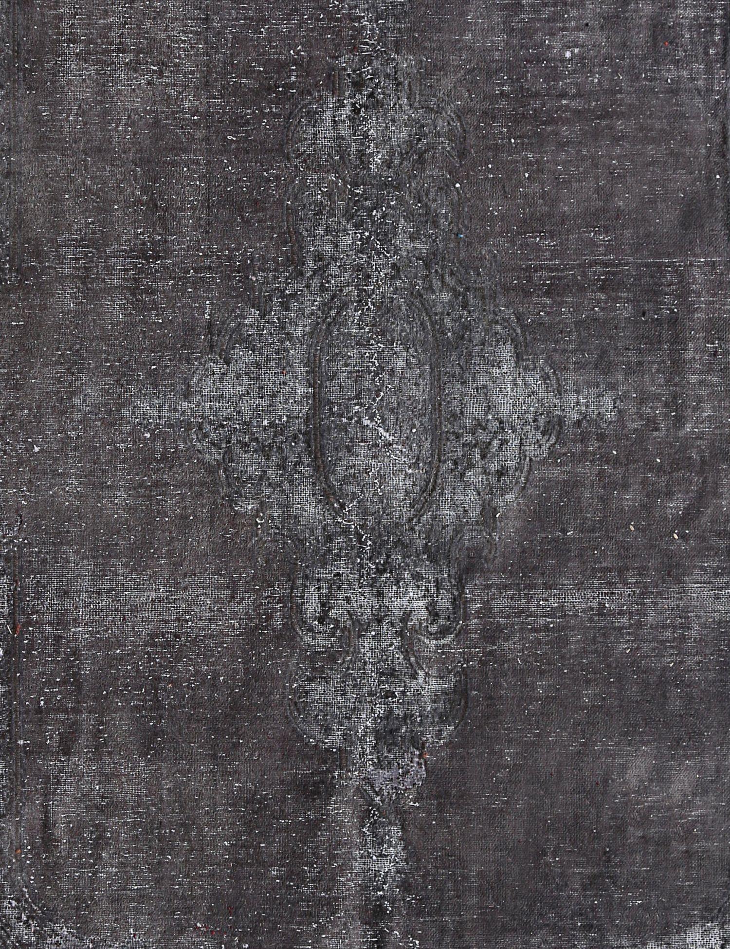 Vintage Teppich  schwarz <br/>305 x 213 cm