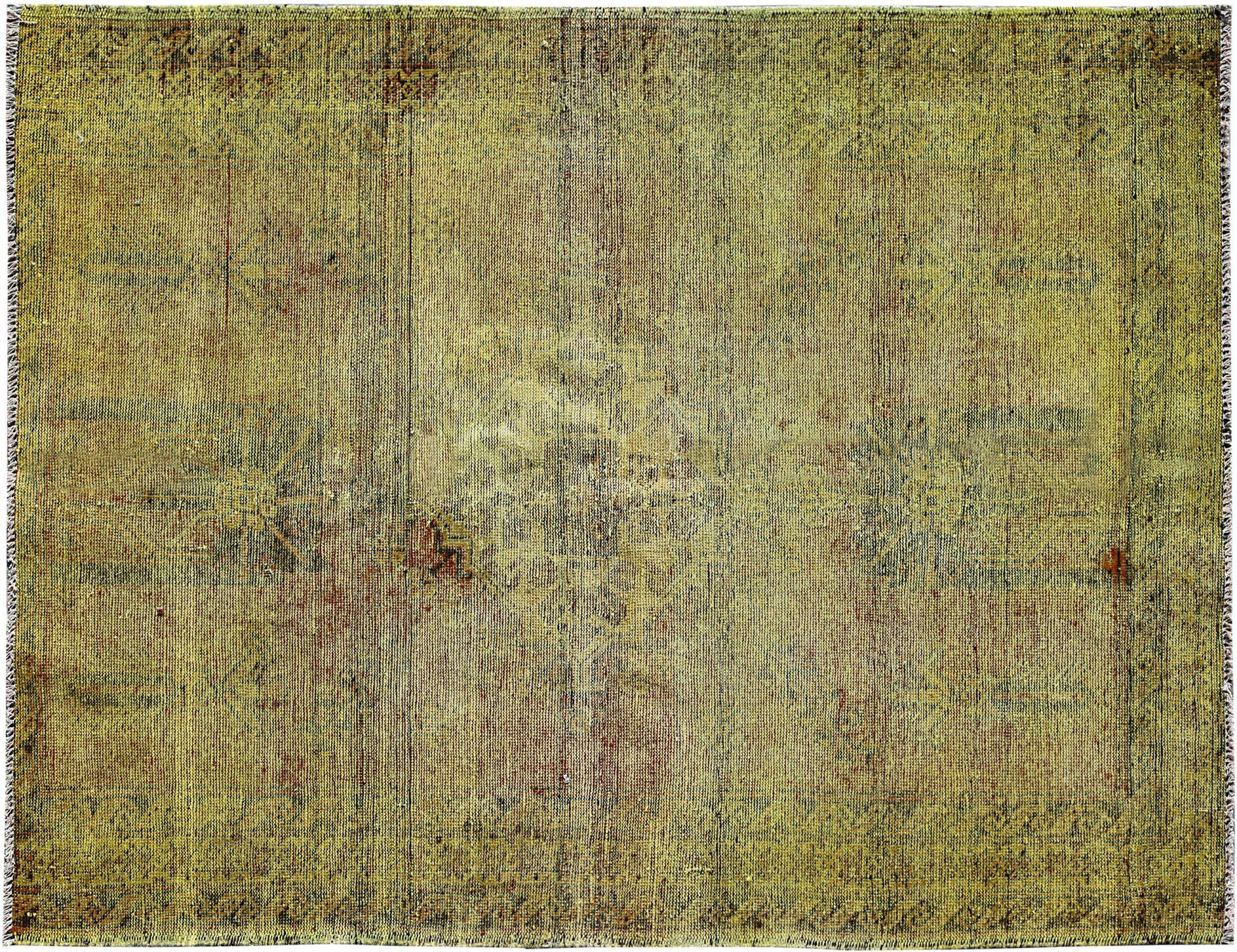 Vintage Teppich  gelb <br/>179 x 121 cm