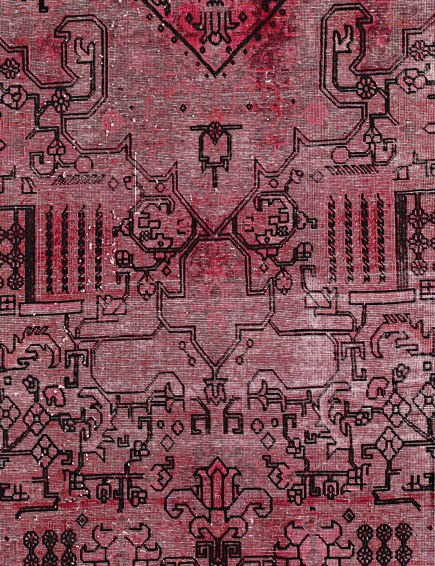 Vintage Teppich  rosa <br/>187 x 138 cm