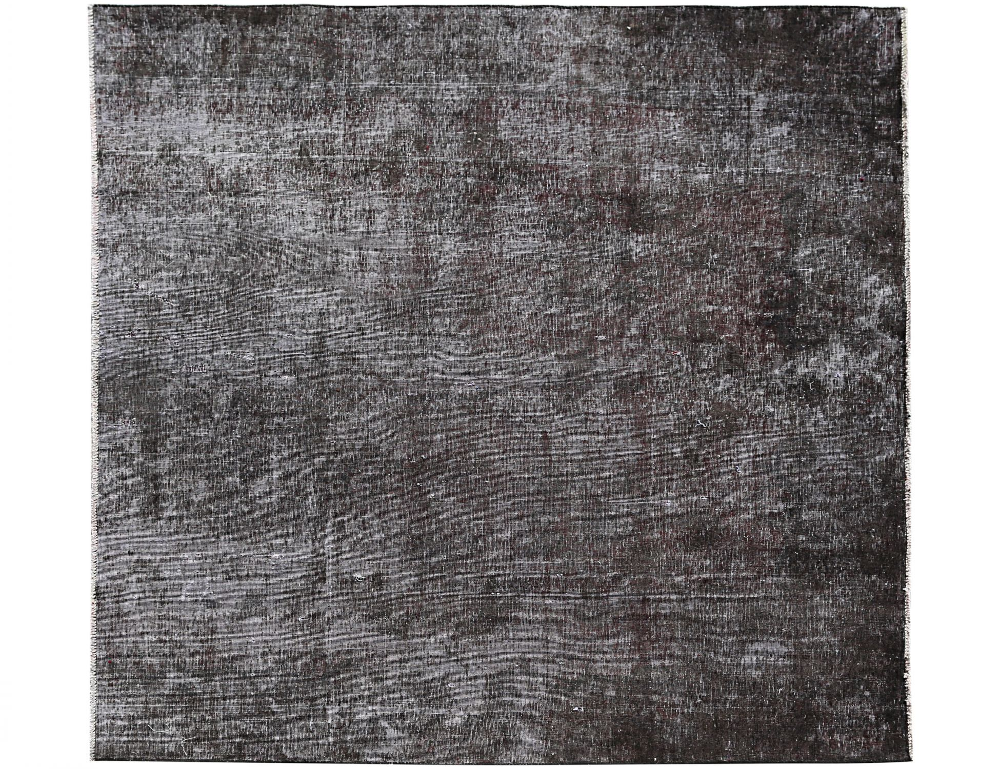 Vintage Teppich  schwarz <br/>188 x 203 cm