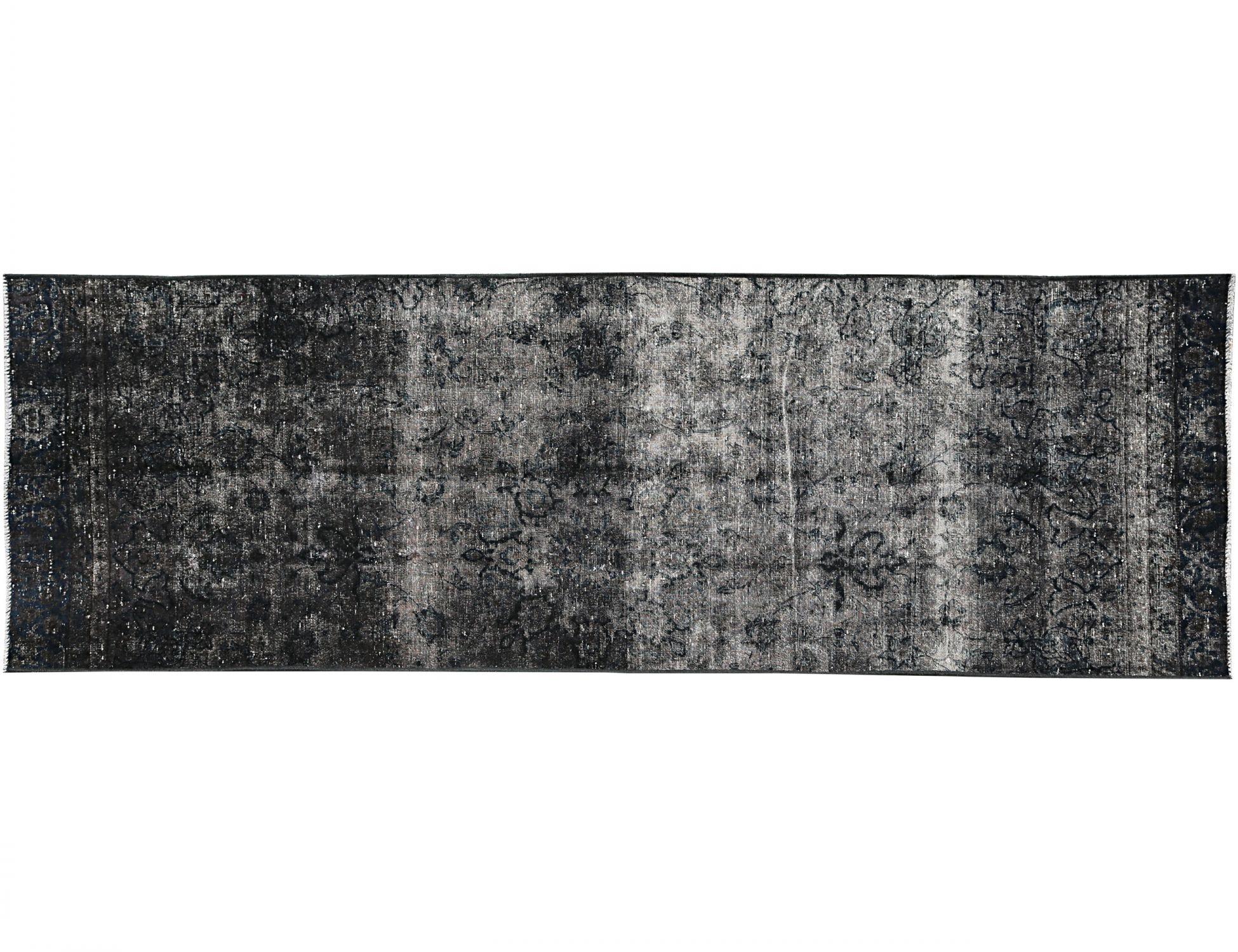 Tappeto Vintage  nero <br/>304 x 105 cm