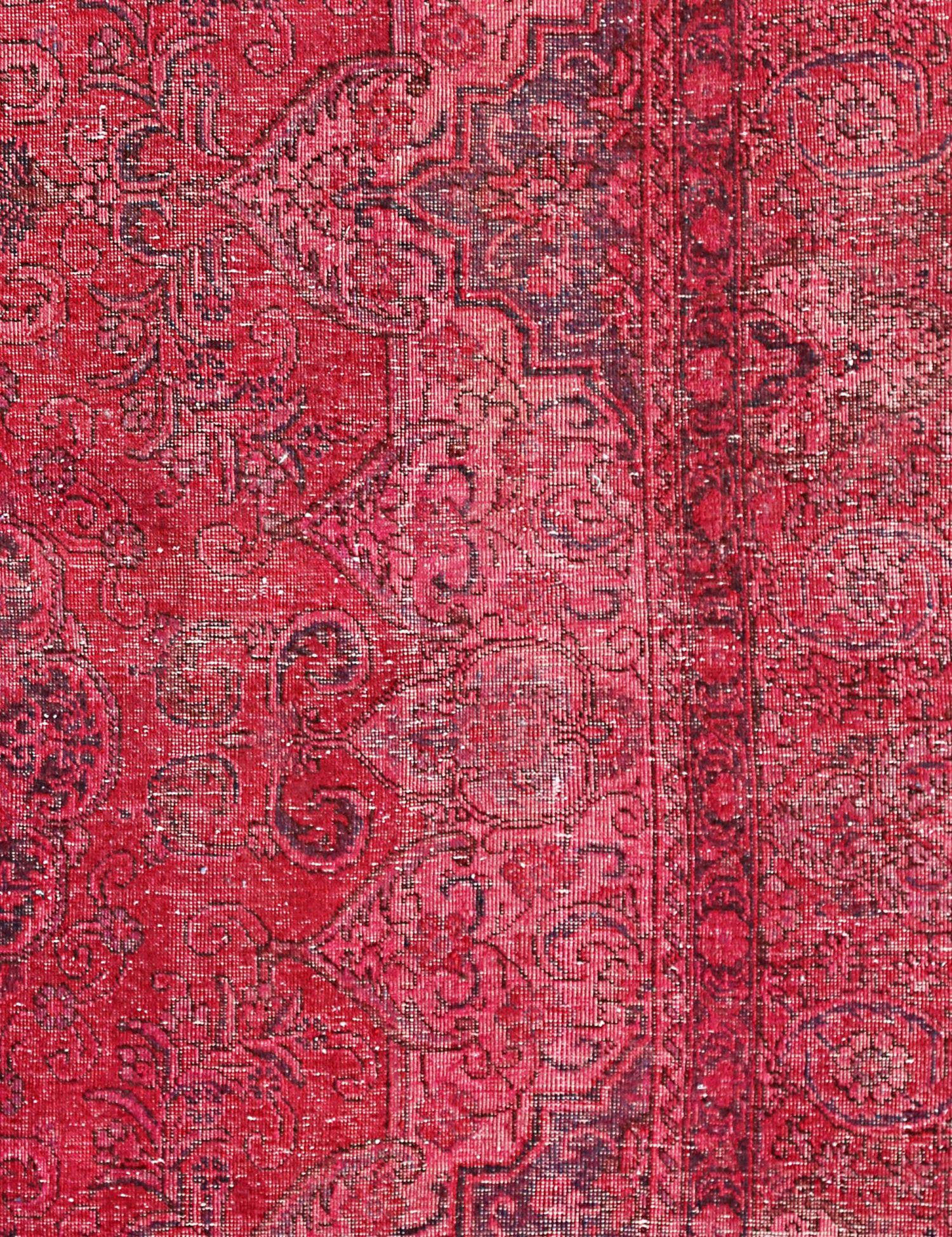 Vintage Teppich  rot <br/>160 x 111 cm