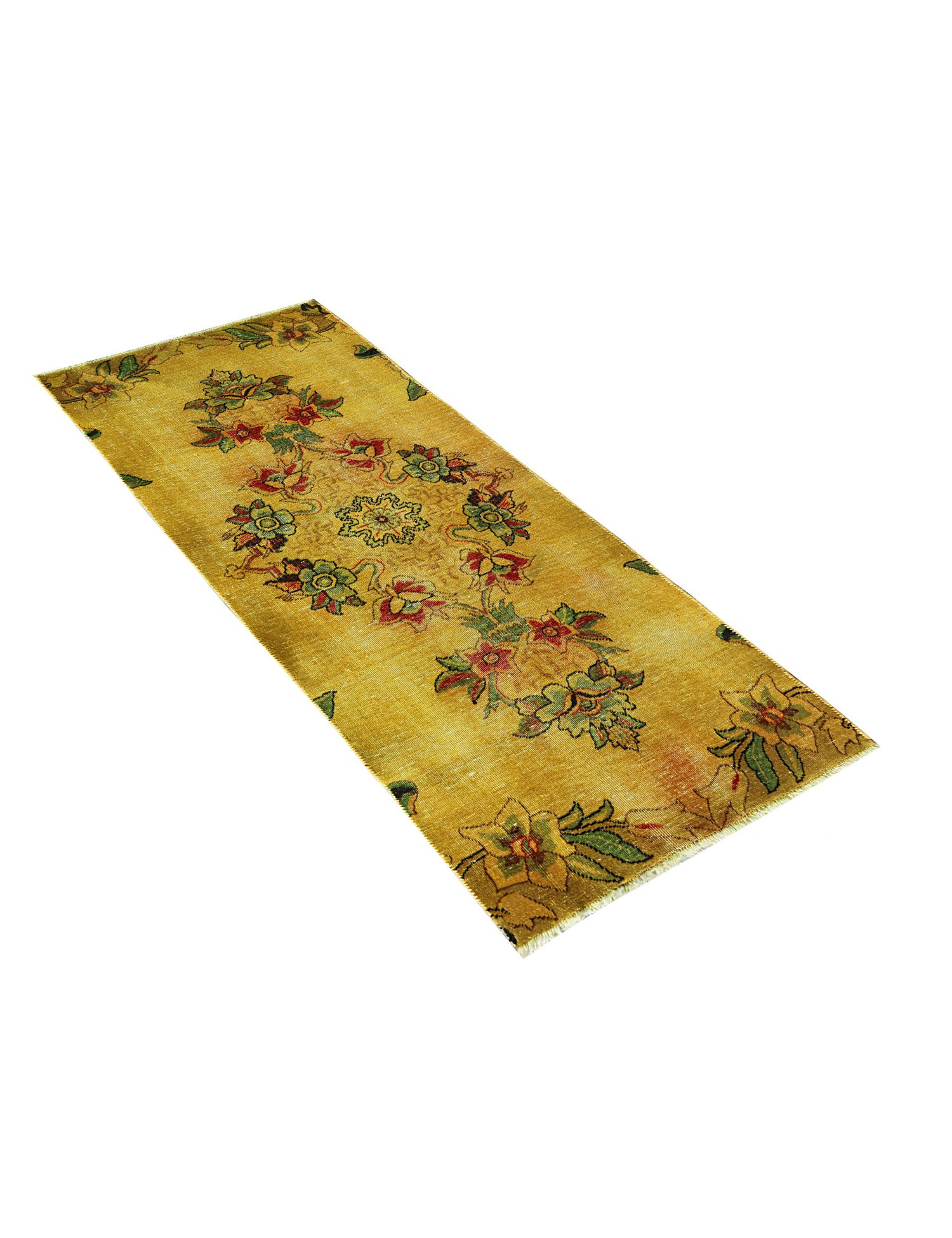 Vintage Teppich  gelb <br/>190 x 83 cm