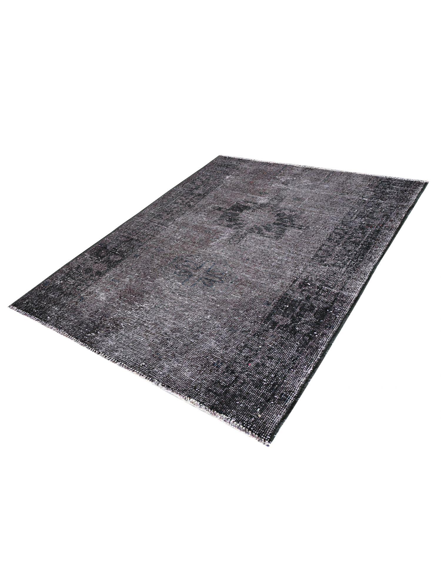 Vintage Teppich  schwarz <br/>147 x 110 cm