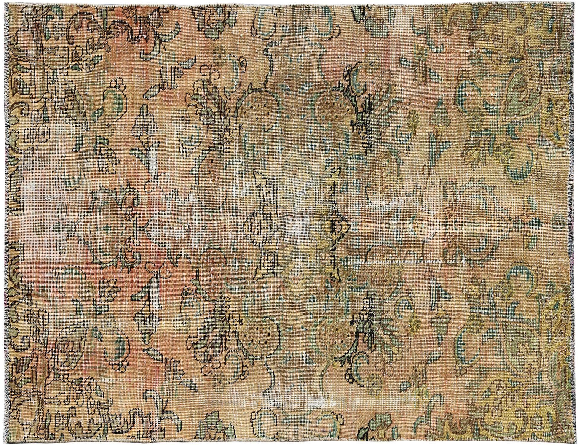 Tappeto Vintage  giallo <br/>191 x 121 cm