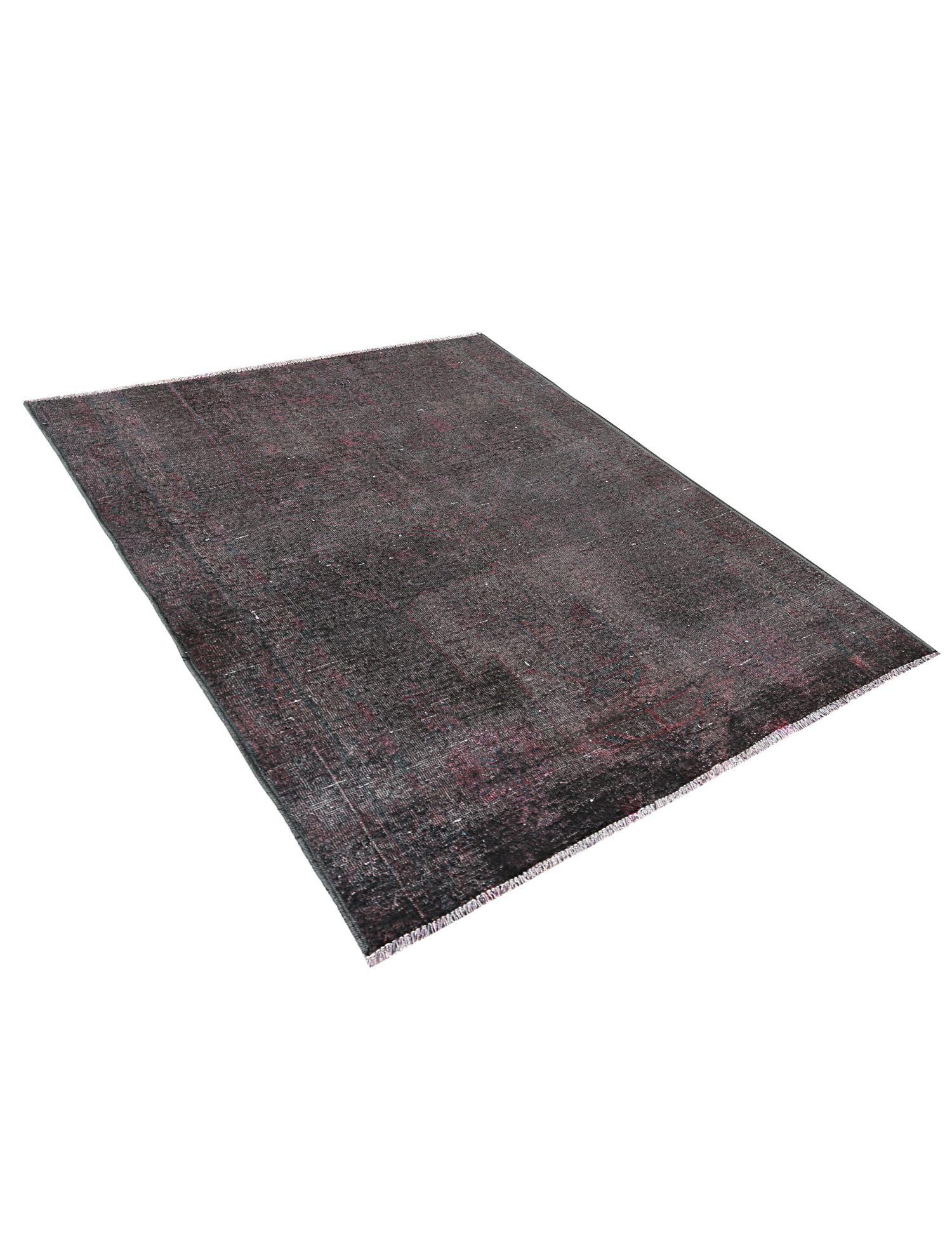 Vintage Teppich  schwarz <br/>178 x 130 cm