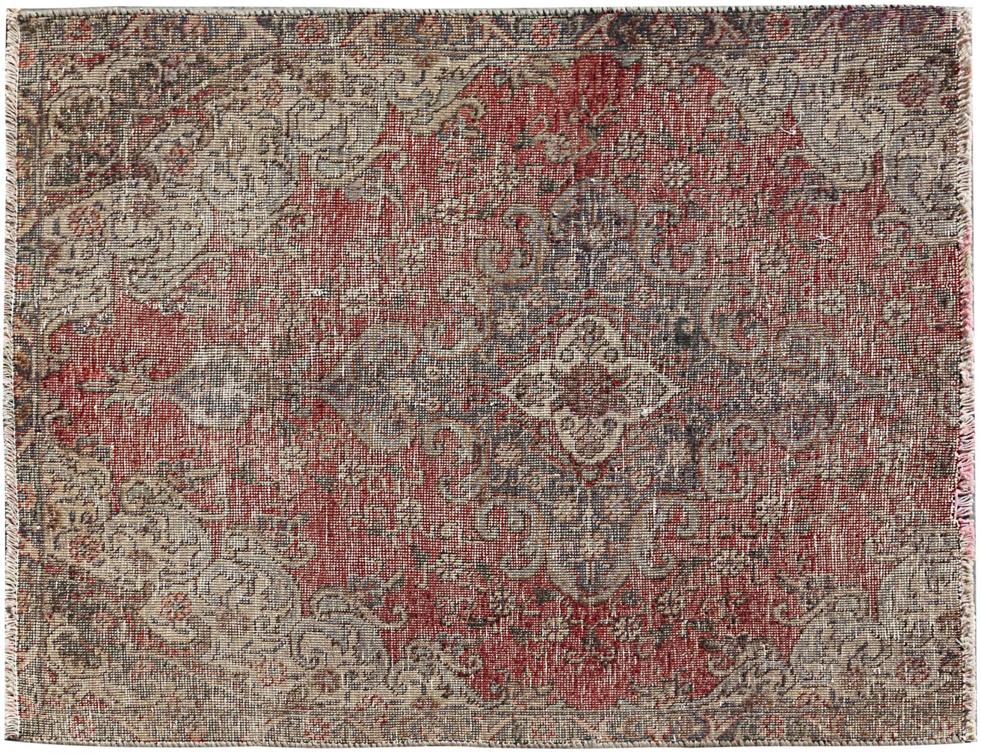 Retro Teppich  beige <br/>118 x 90 cm