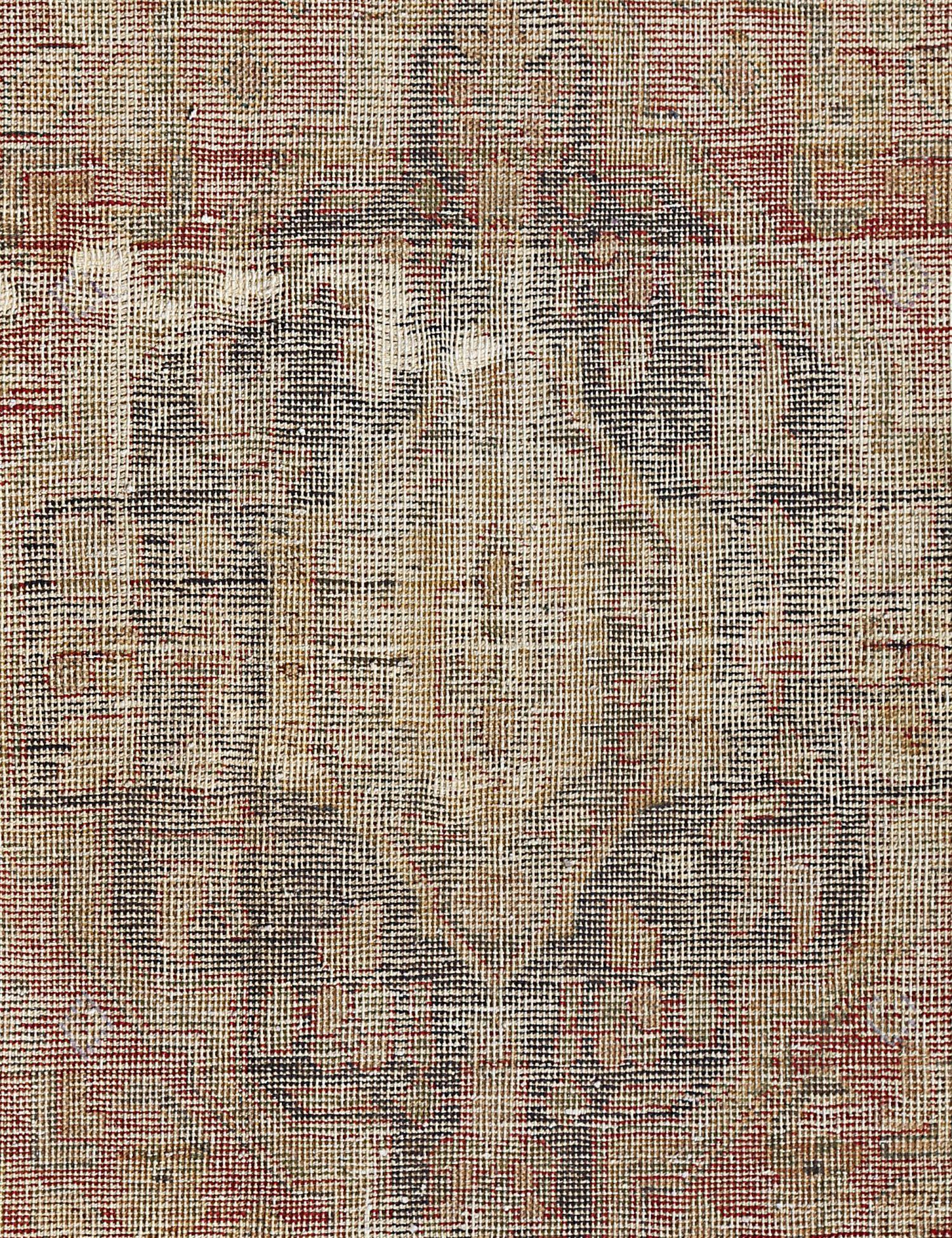 Retro Teppich  beige <br/>135 x 93 cm