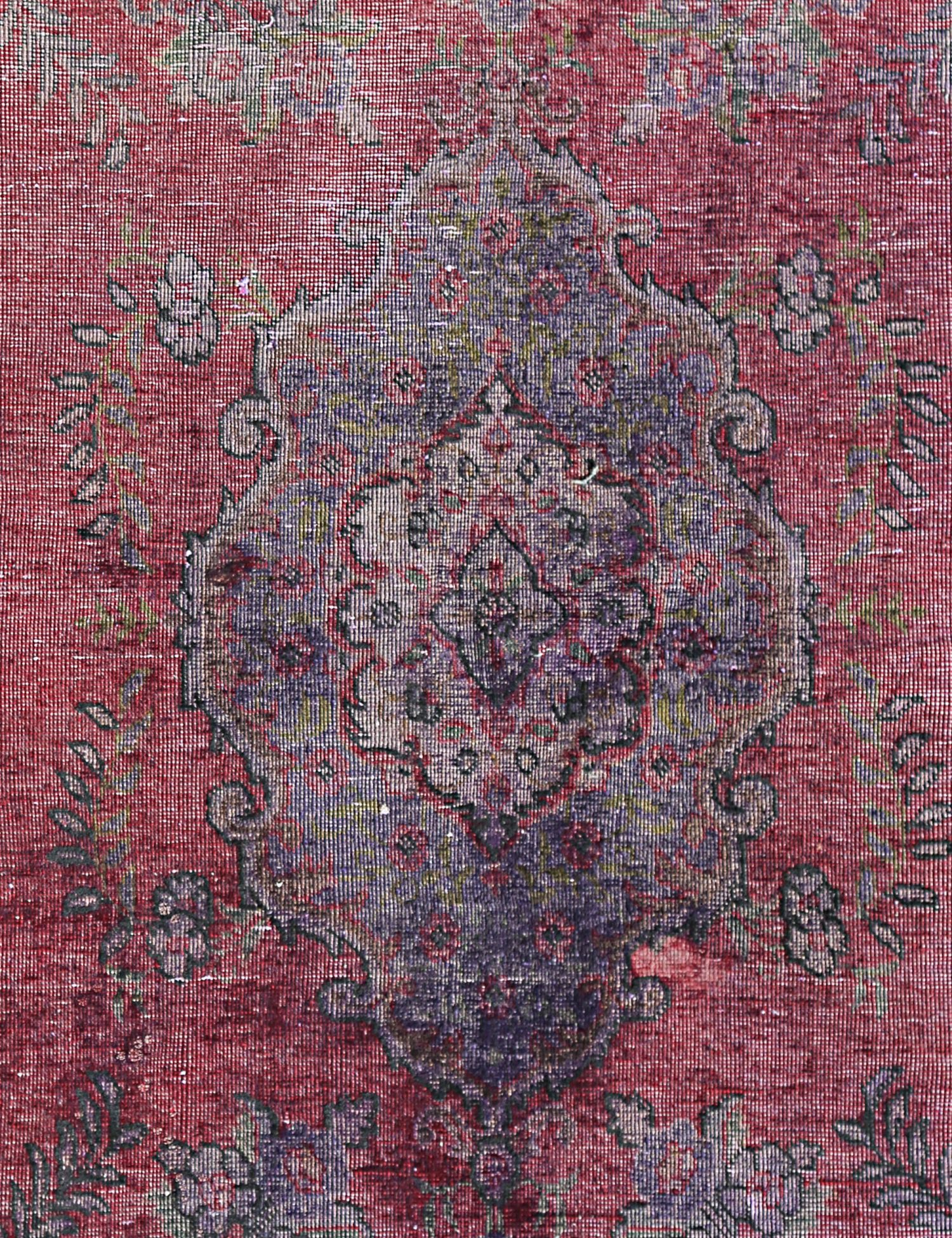 Vintage Teppich  lila <br/>175 x 117 cm