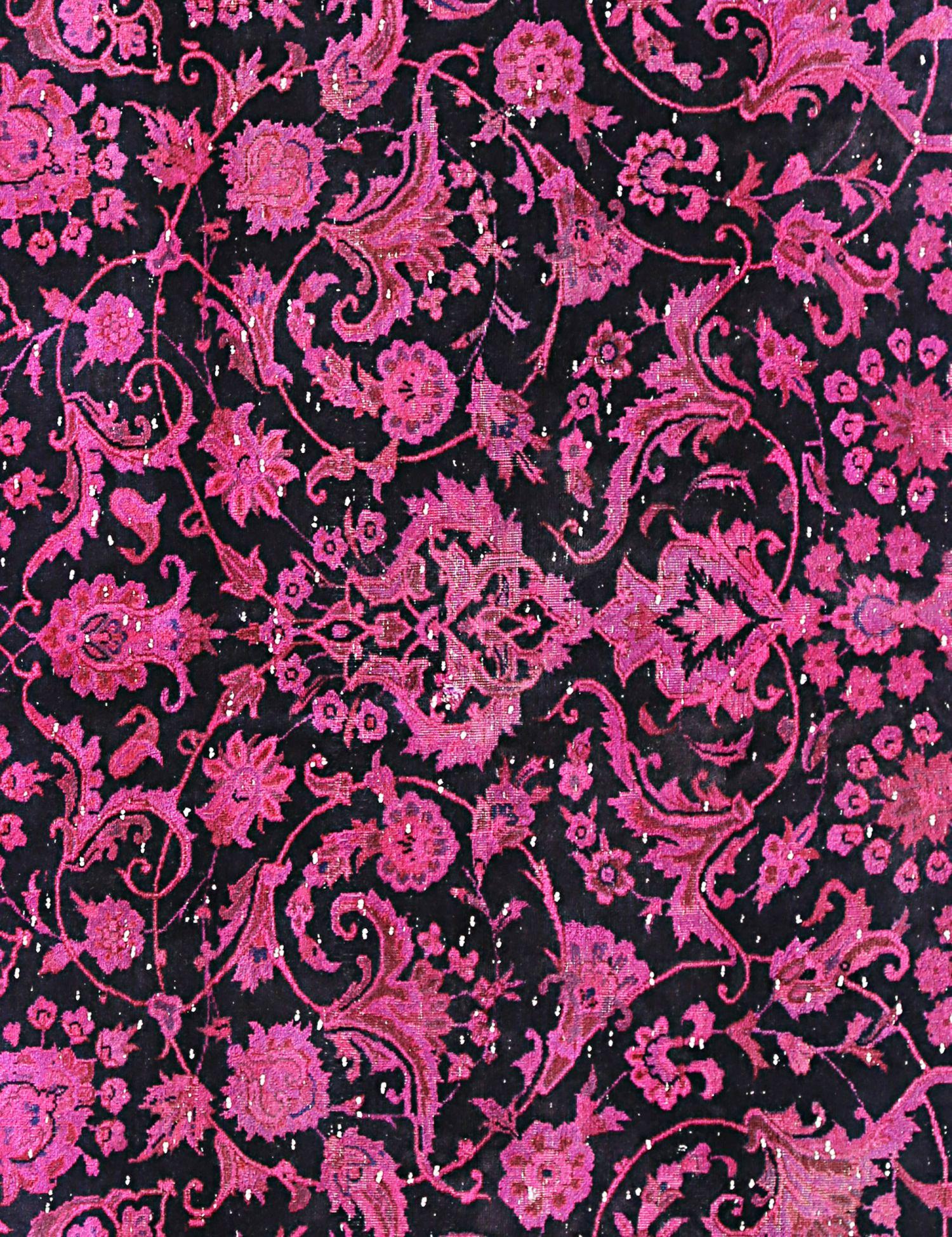 Tappeto Vintage  nero <br/>188 x 144 cm