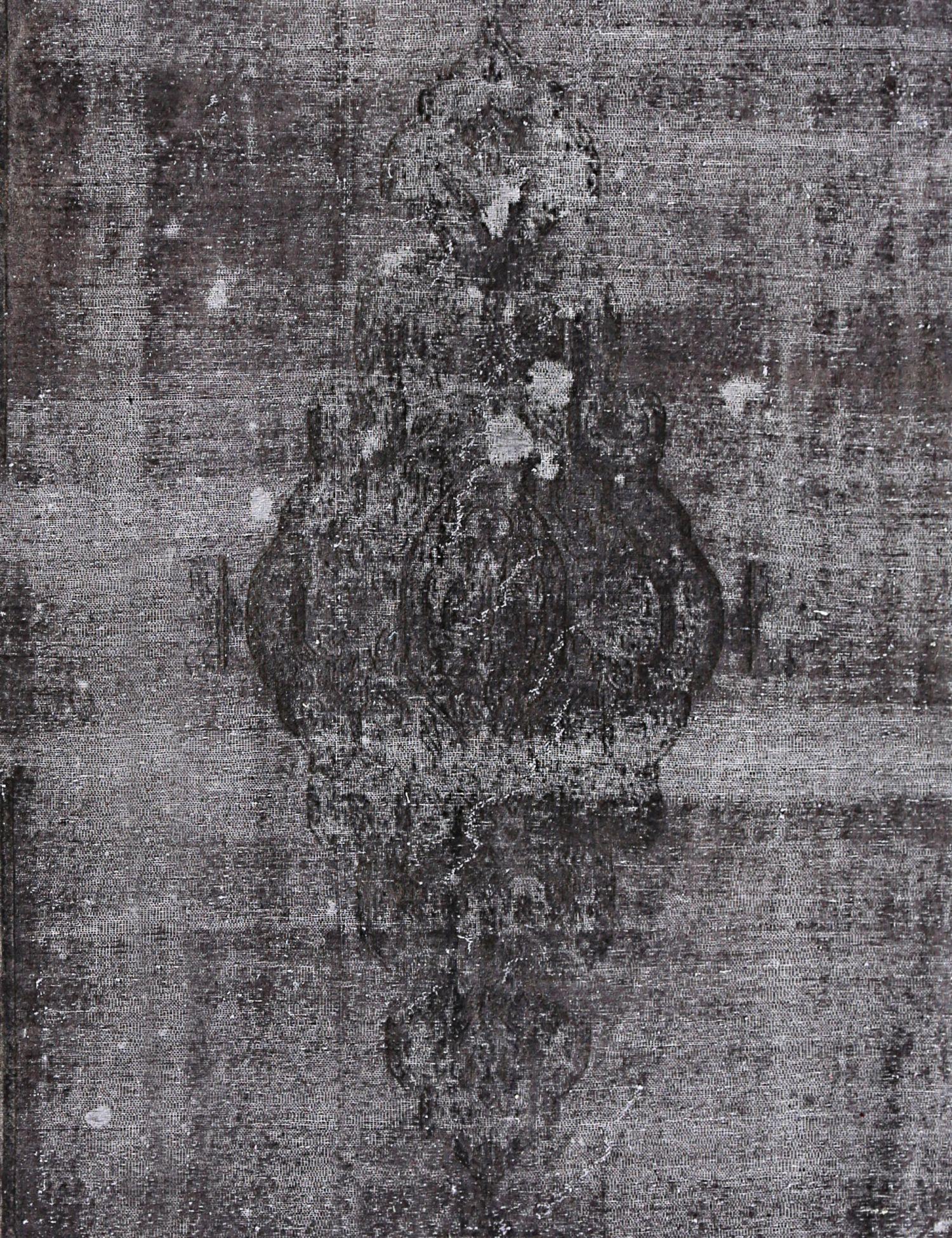 Tappeto Vintage  nero <br/>286 x 196 cm