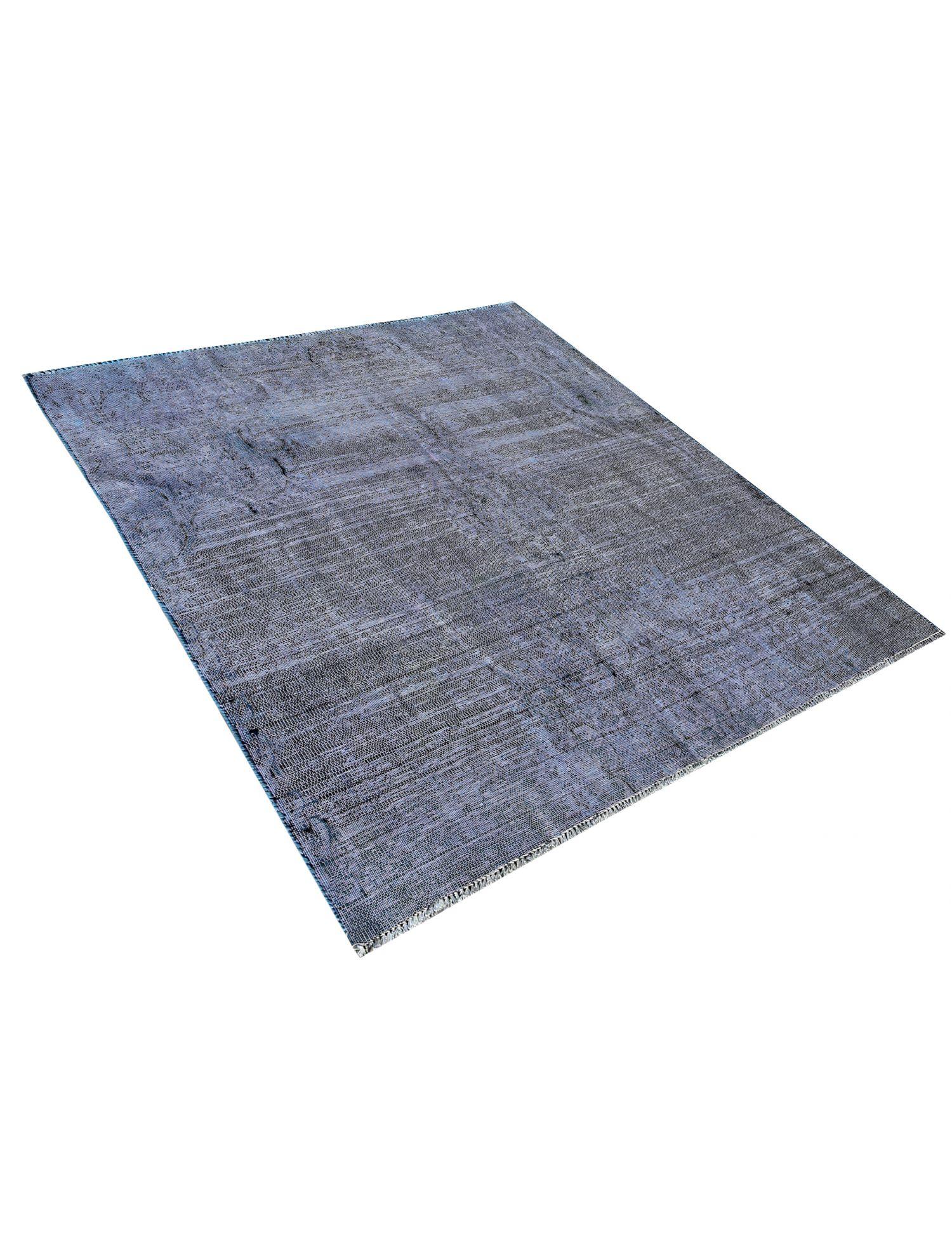 Vintage Teppich  blau <br/>140 x 150 cm